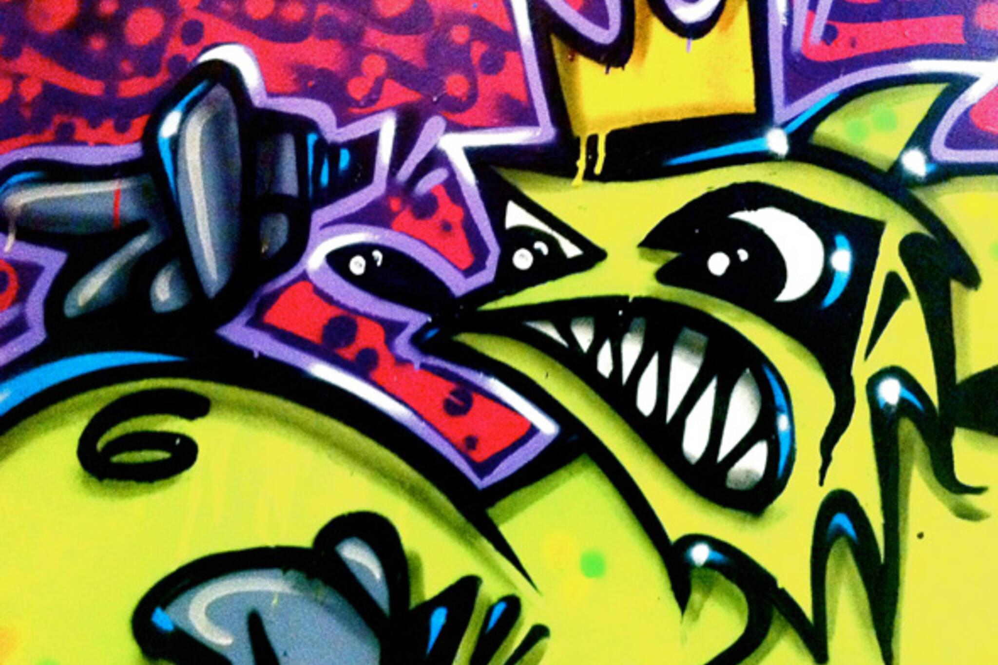 Kizmet Toronto Graffiti