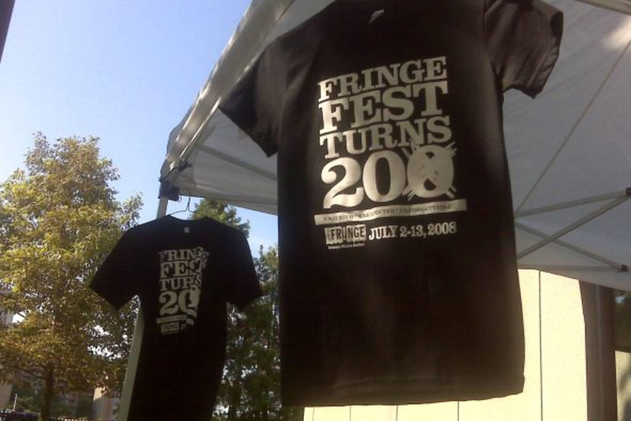 Toronto Fringe t-shirts