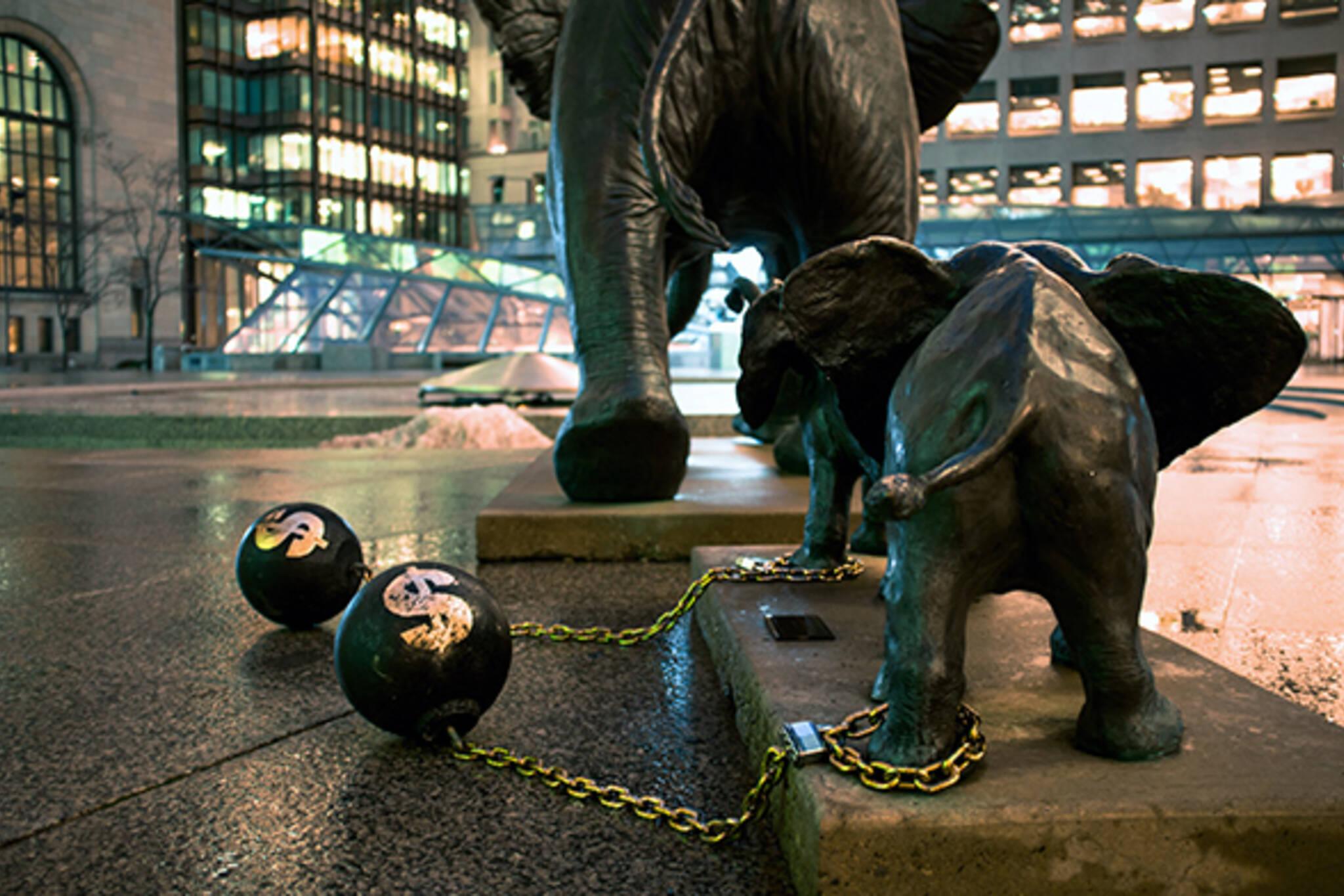 street art financial district