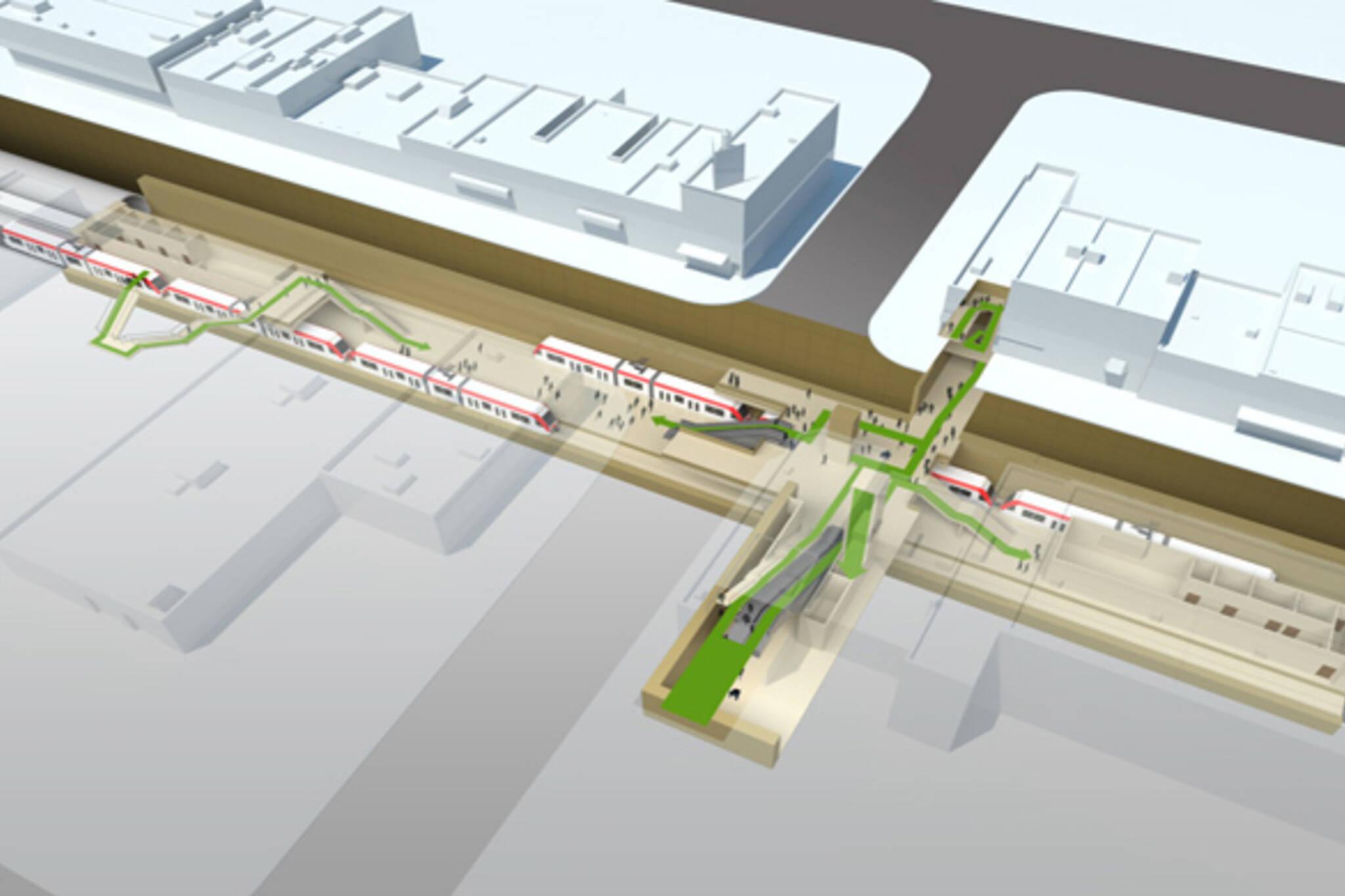 Bathurst Station LRT Crosstown