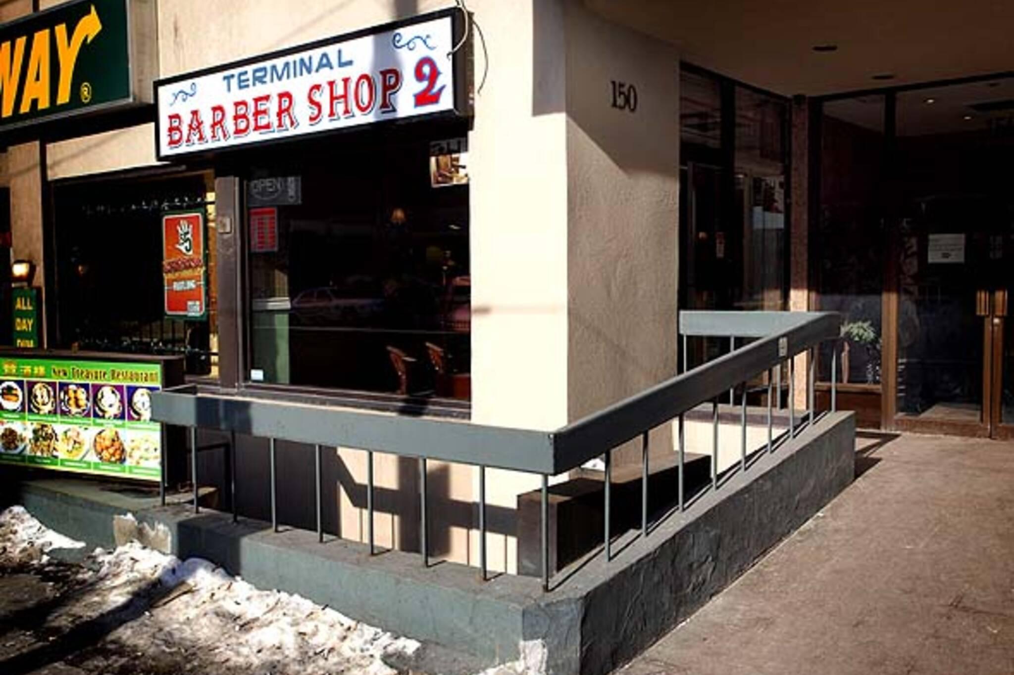 Toronto barbershop