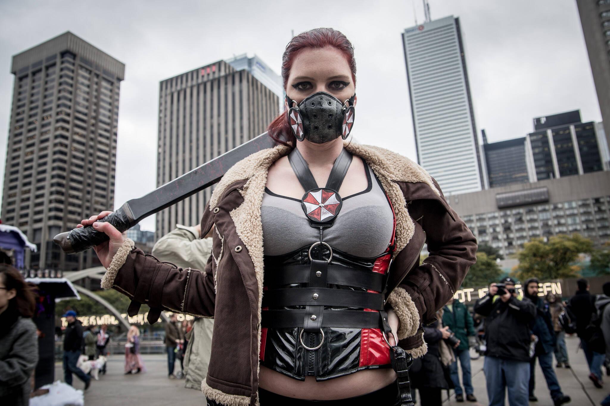 多伦多交货的cosplay
