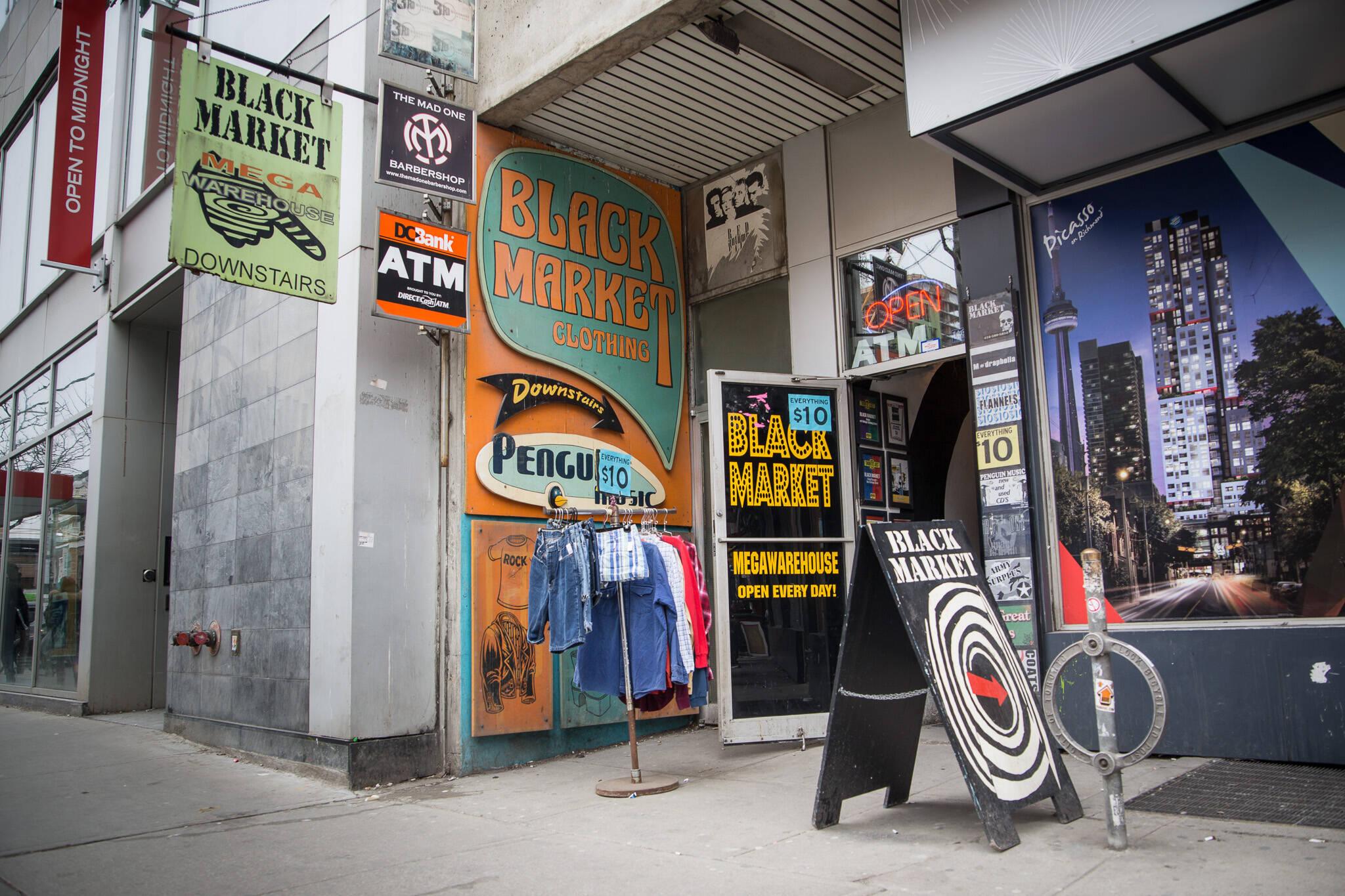 clothing stores toronto