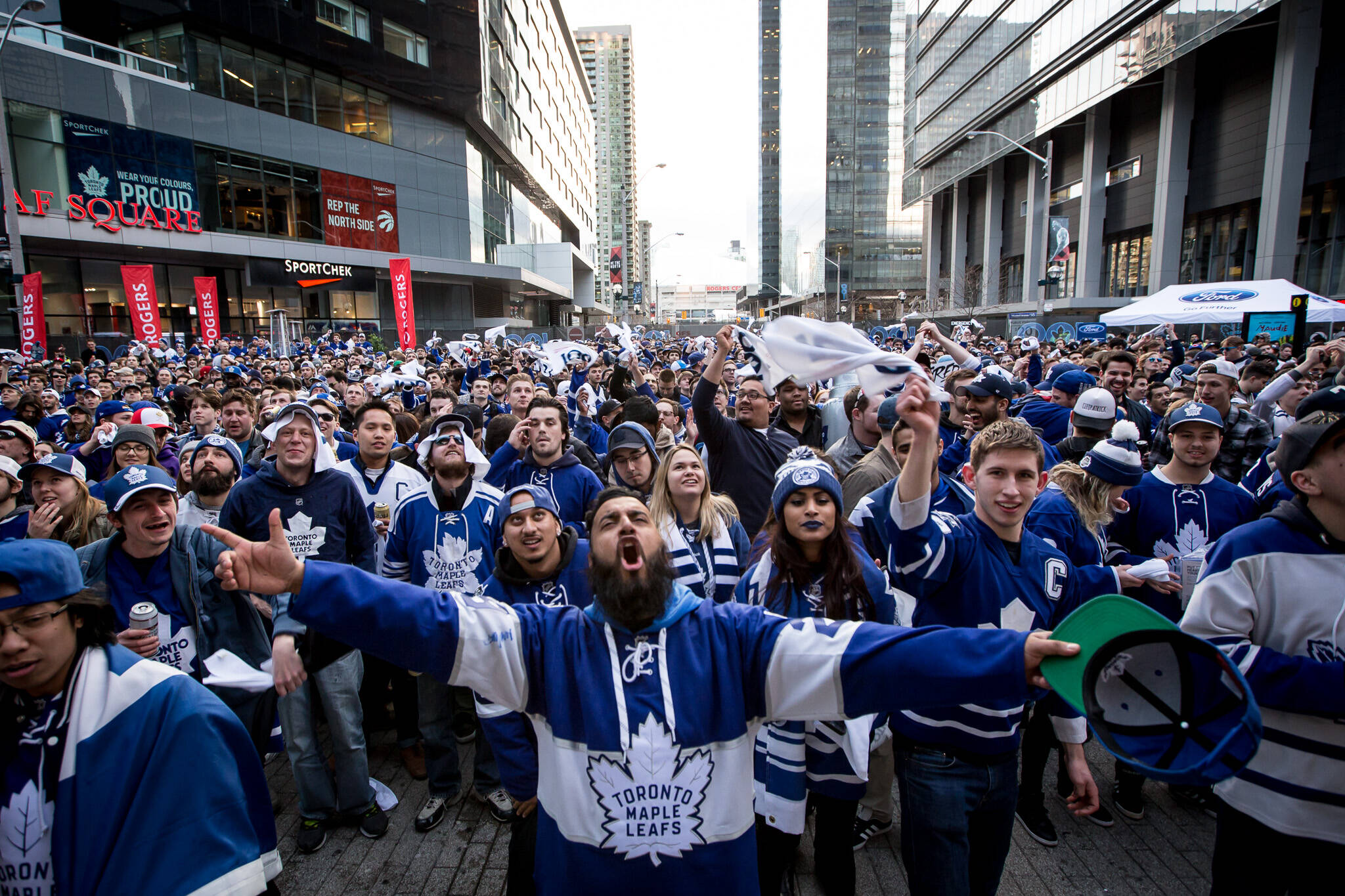 toronto maple leafs home opener