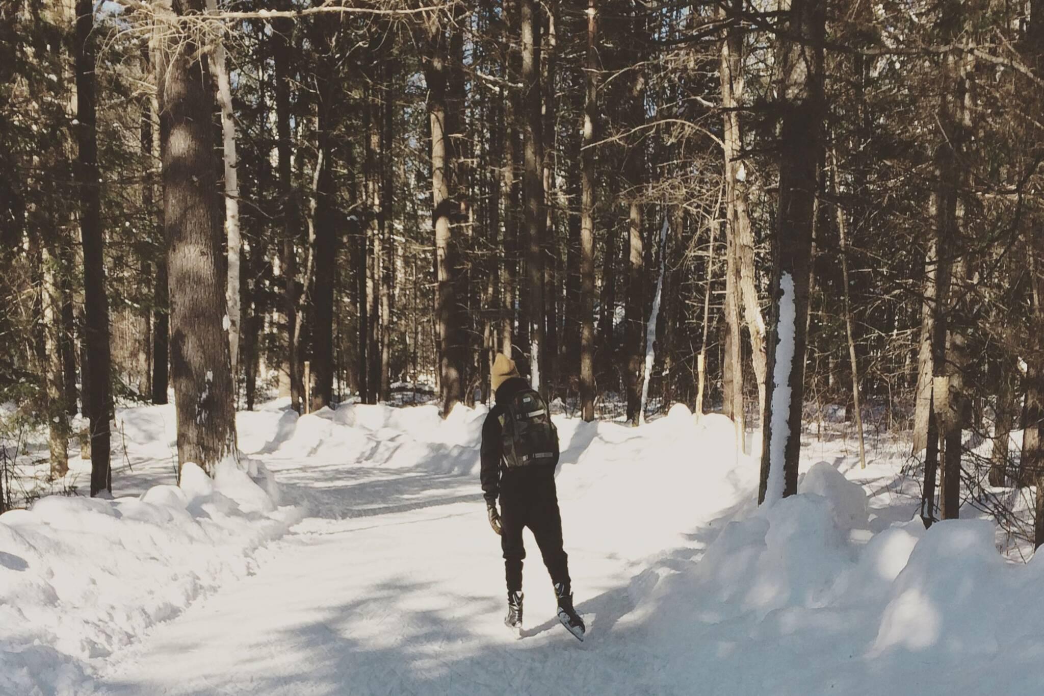 blue mountain skating trail