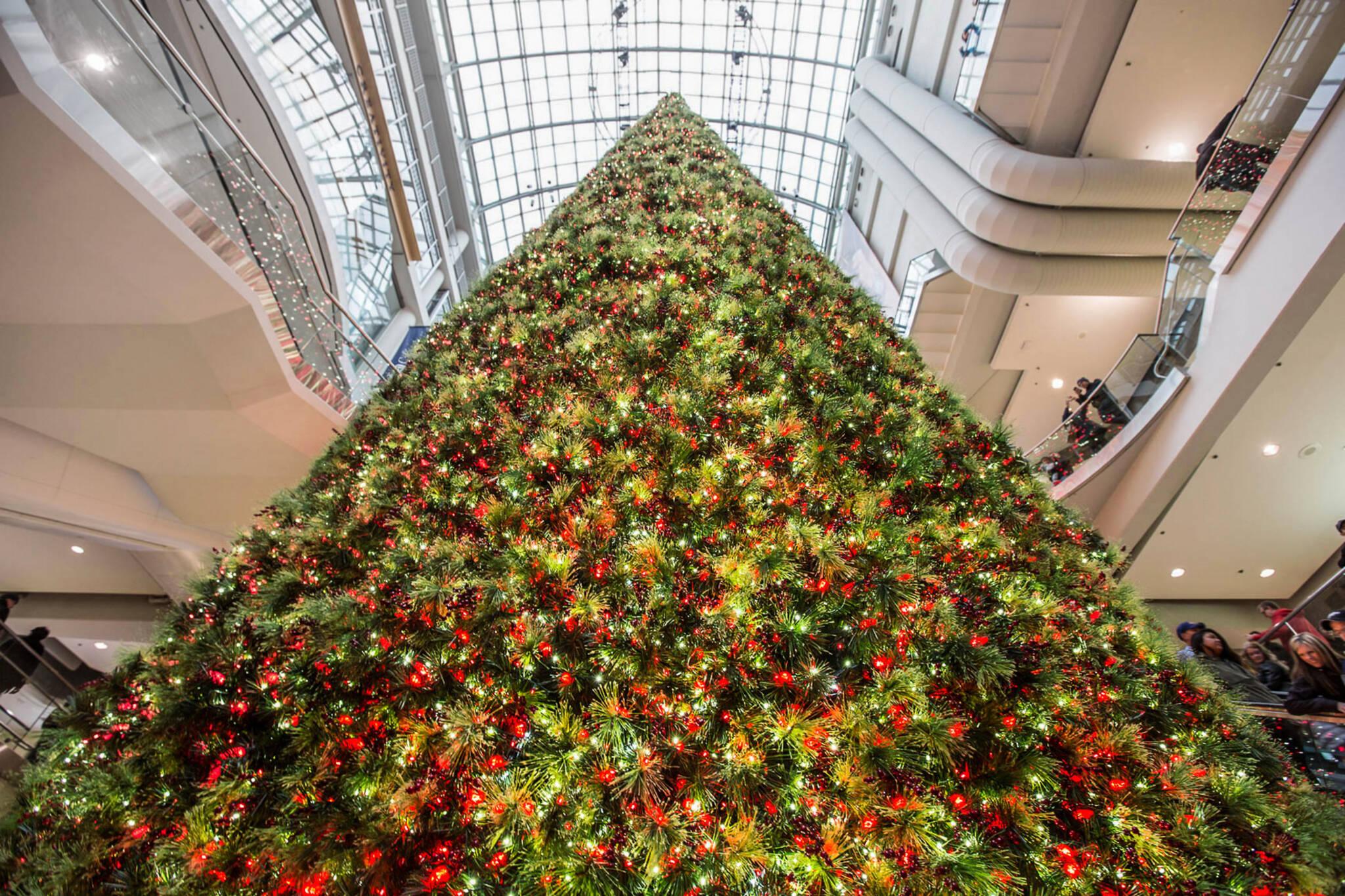 eaton centre christmas tree