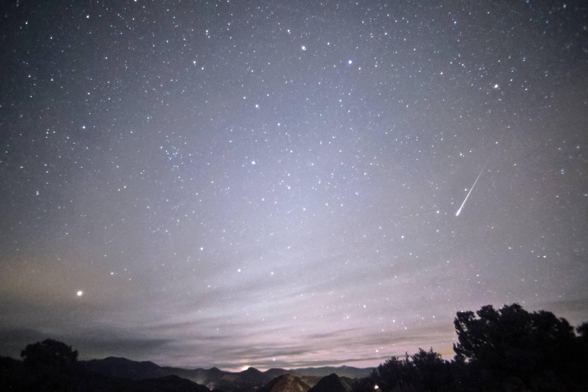leonid meteor shower Toronto