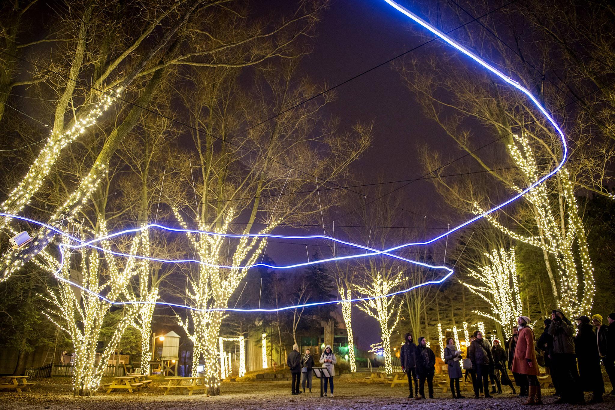 Winter Ontario Place Toronto