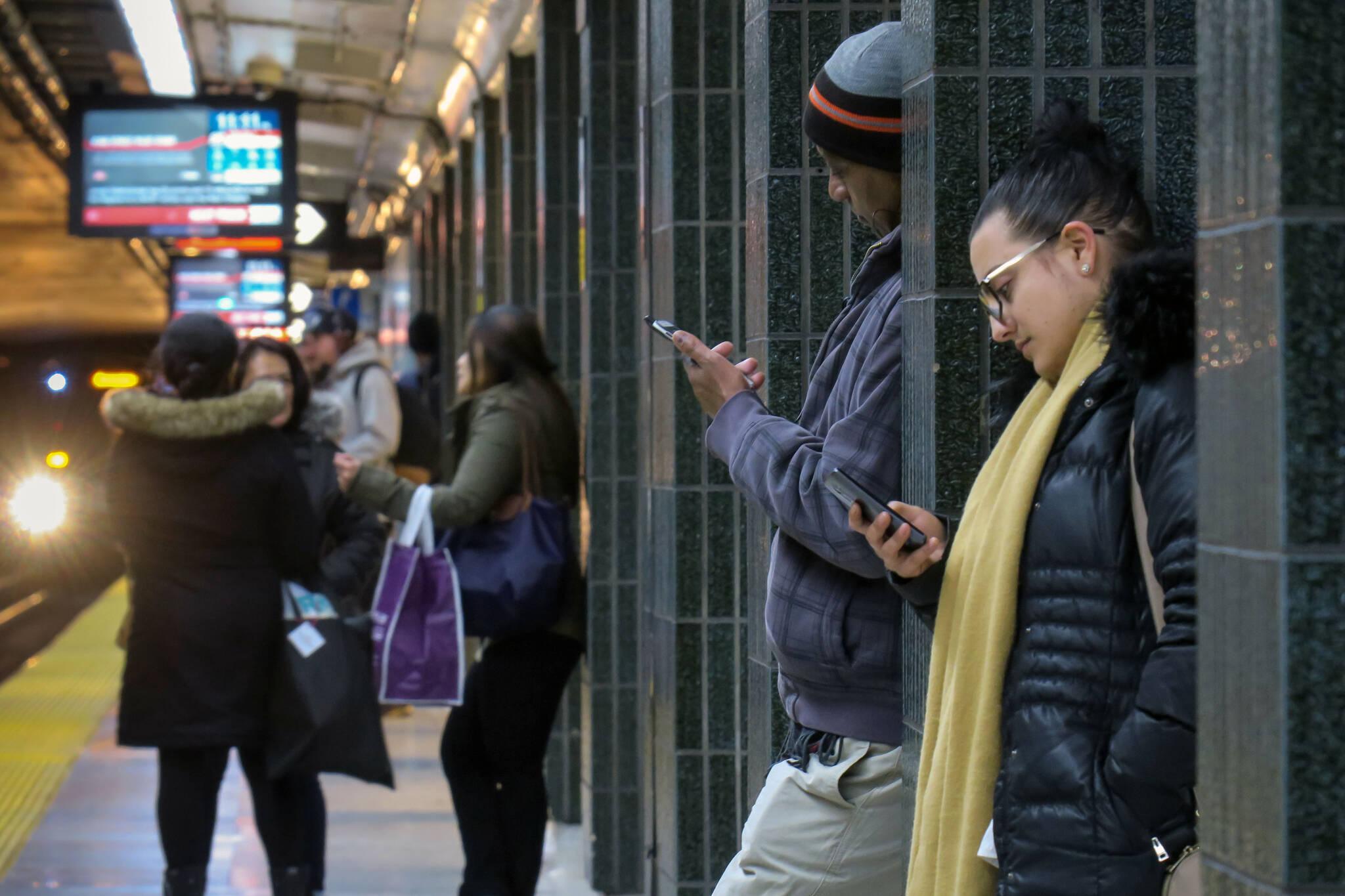 TTC cellphone service