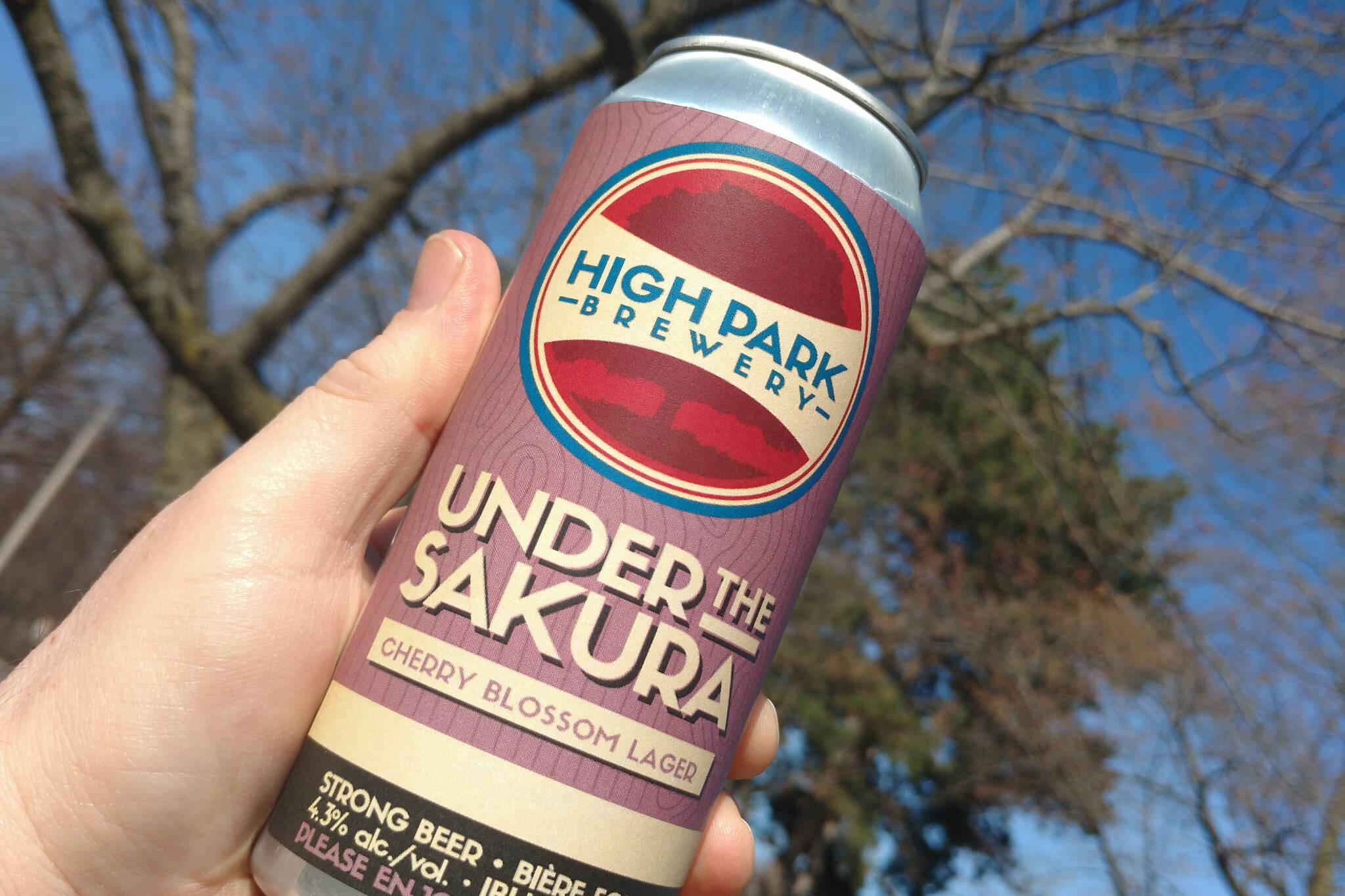 cherry blossom beer toronto