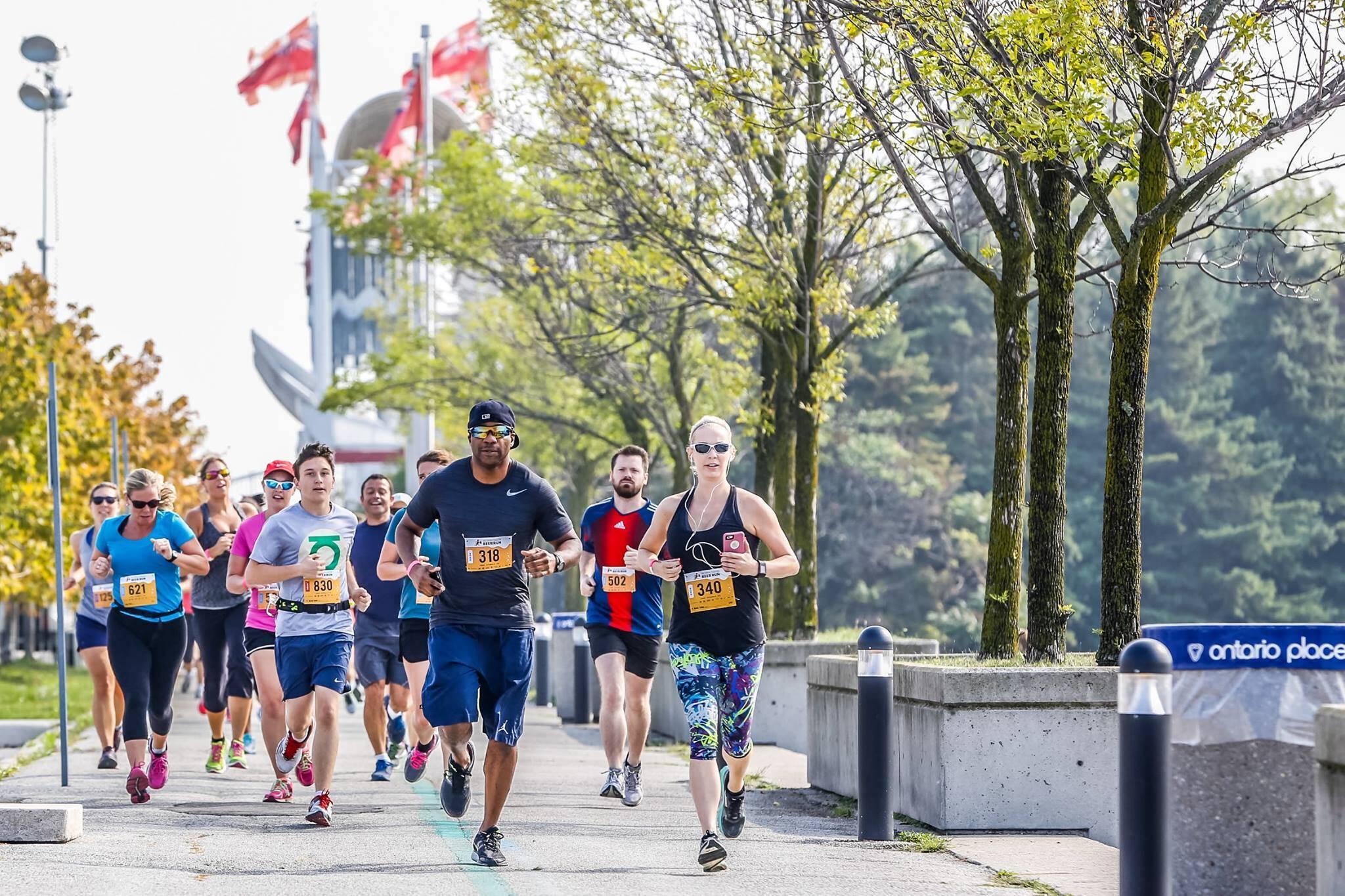 summer running events toronto