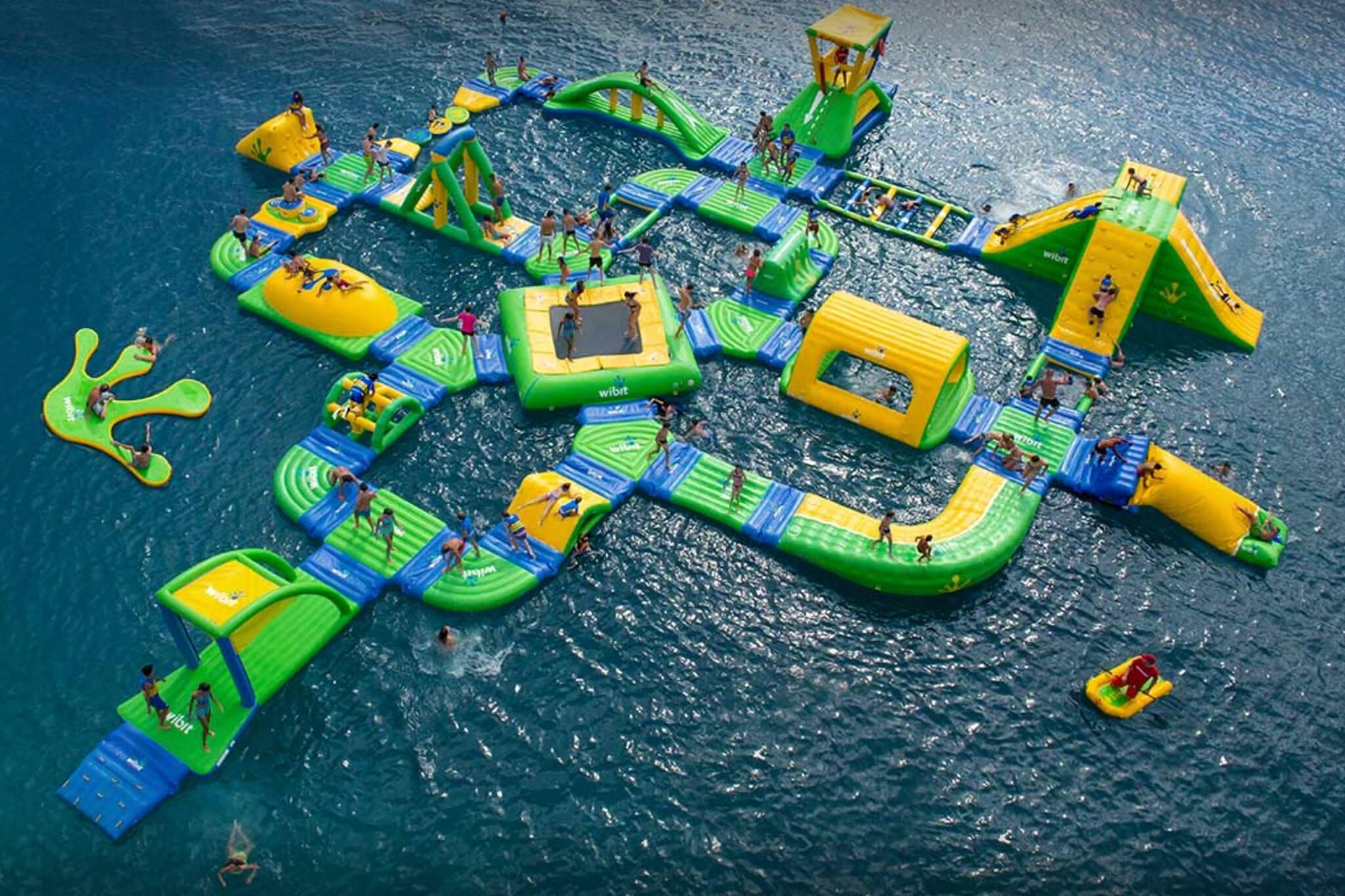 barrie floating waterpark
