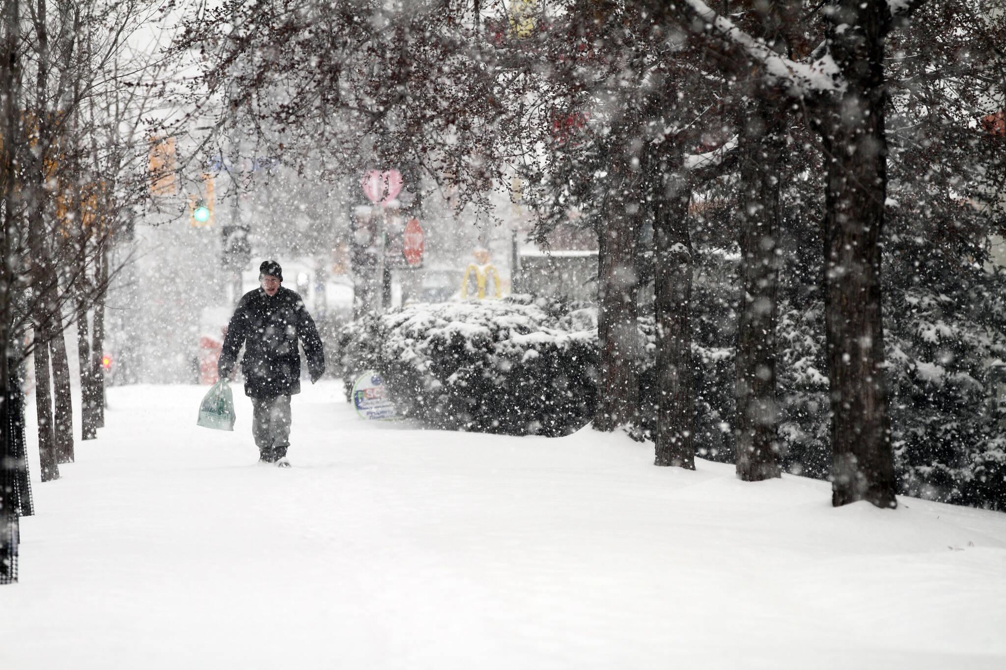 Toronto snow forecast
