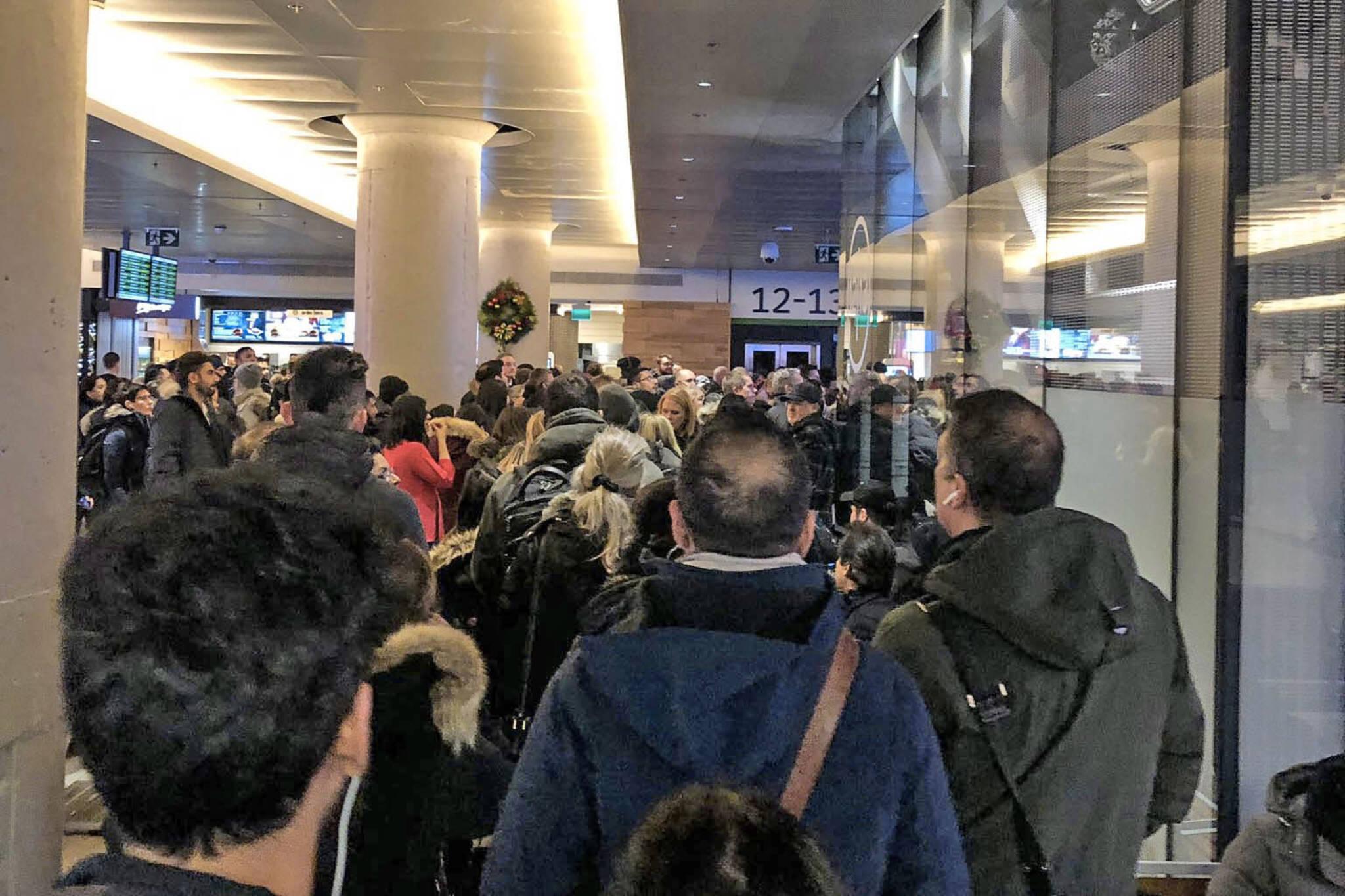 Go train overcrowding