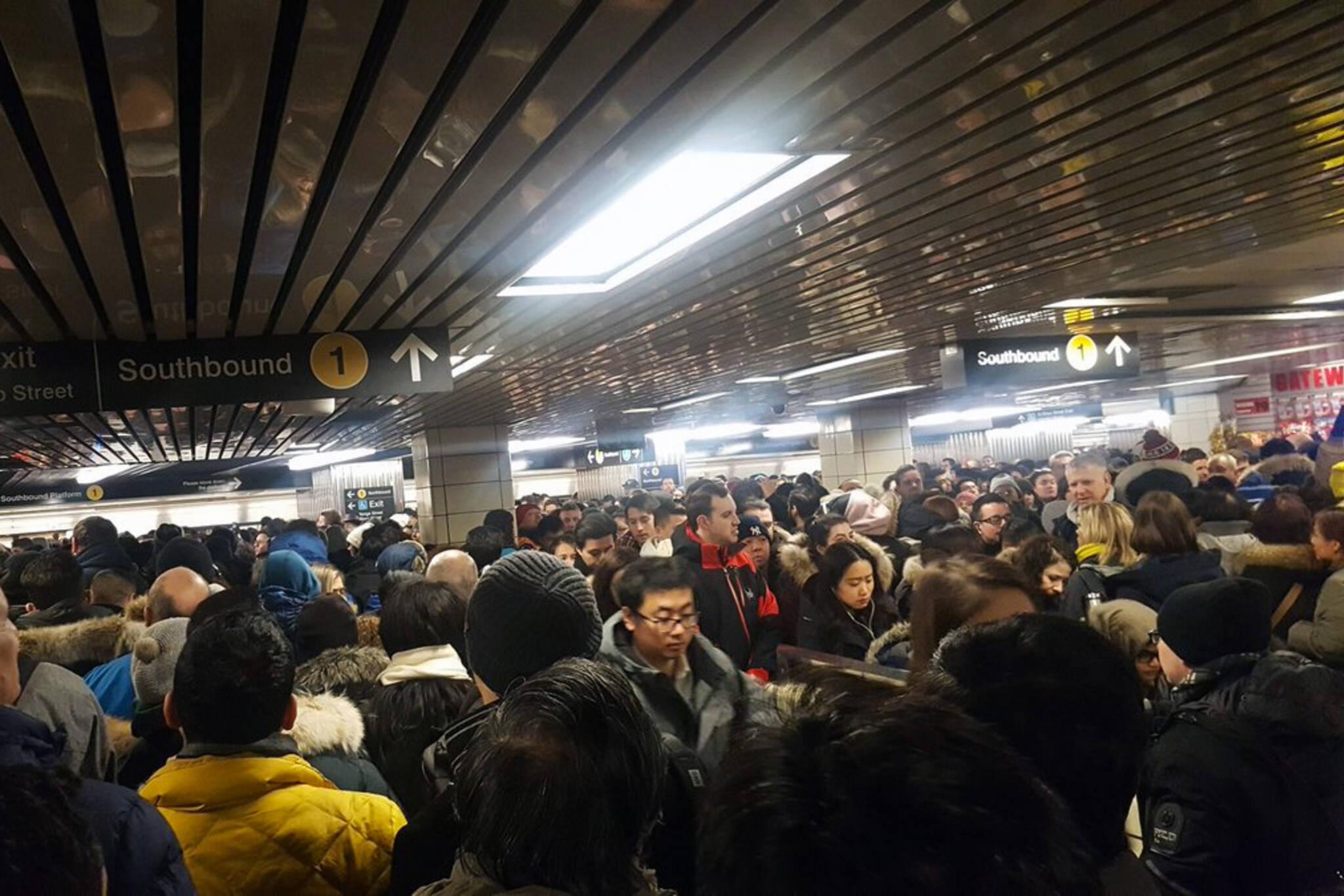 commuter chaos ttc
