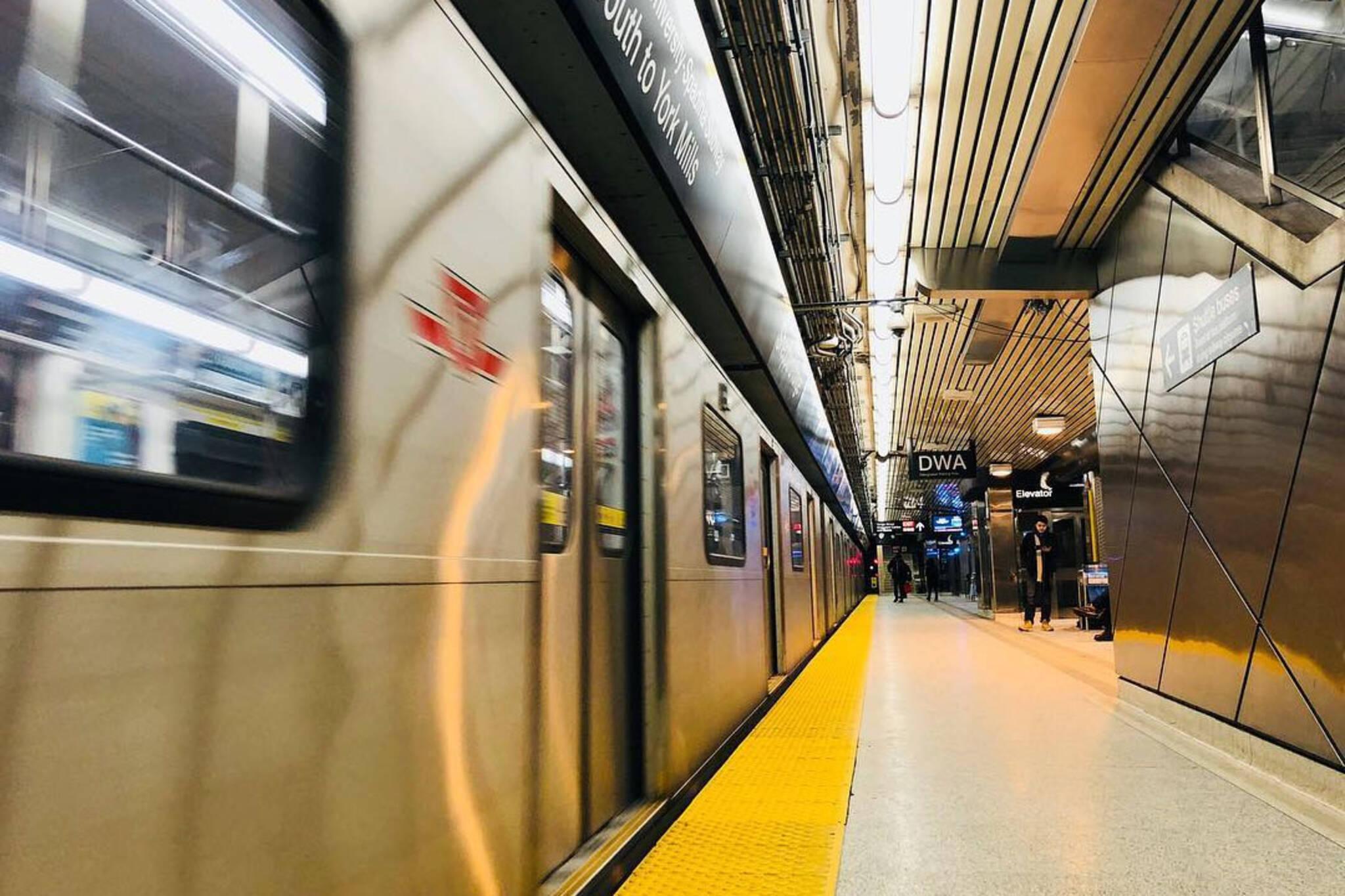 Toronto transit infrastructure