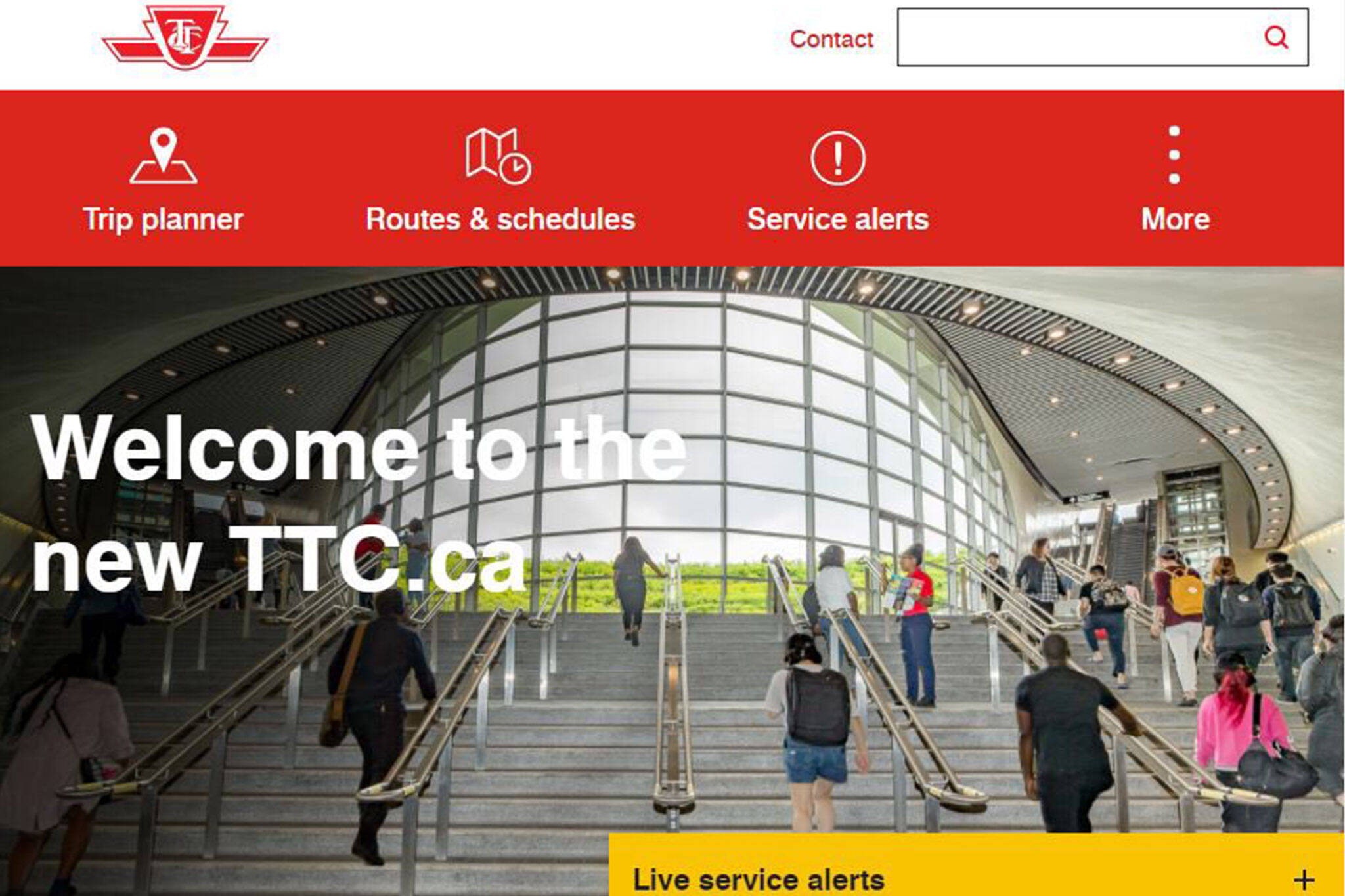 ttc new website