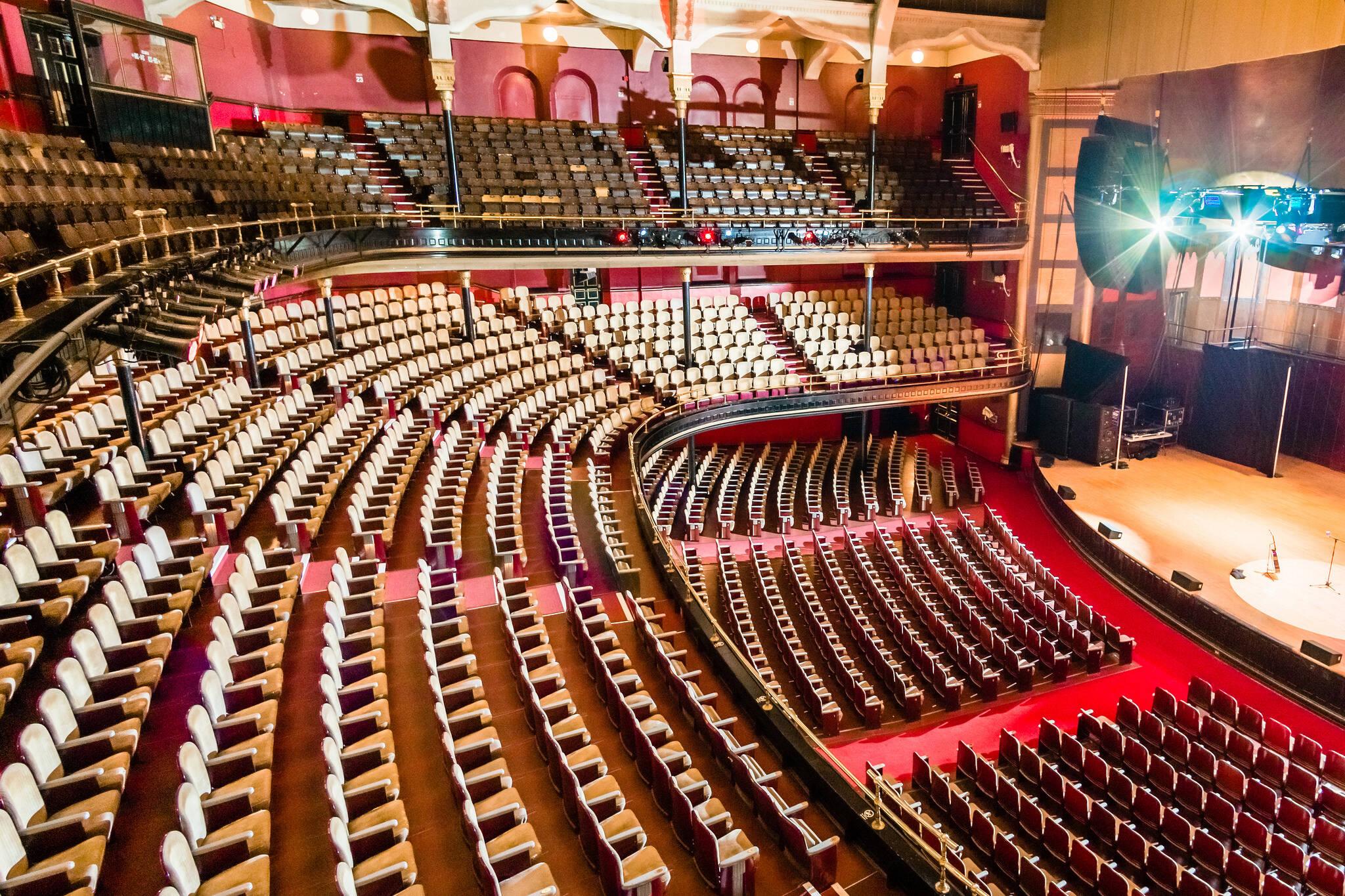 Massey Hall seats