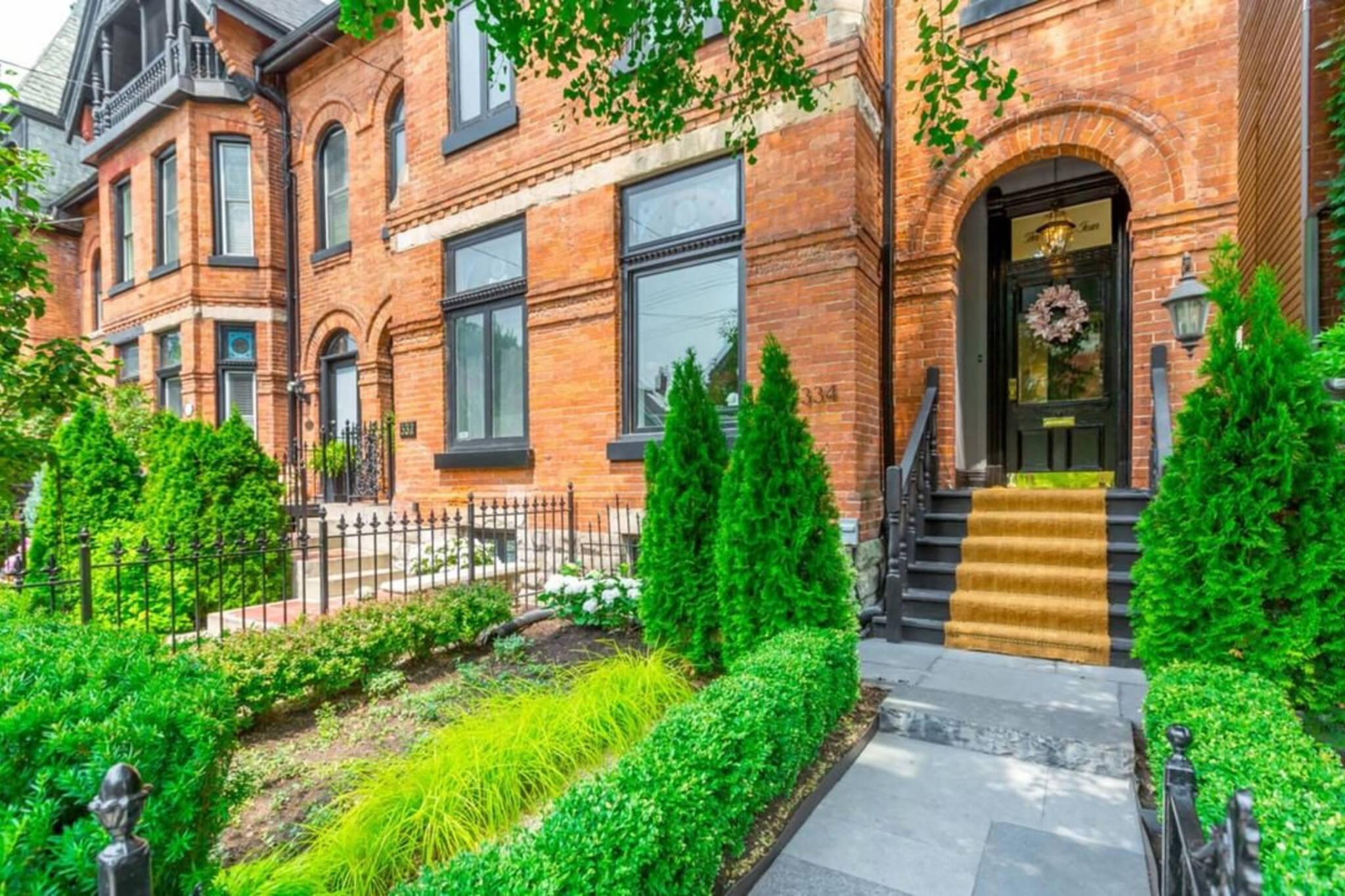 Toronto home sales data