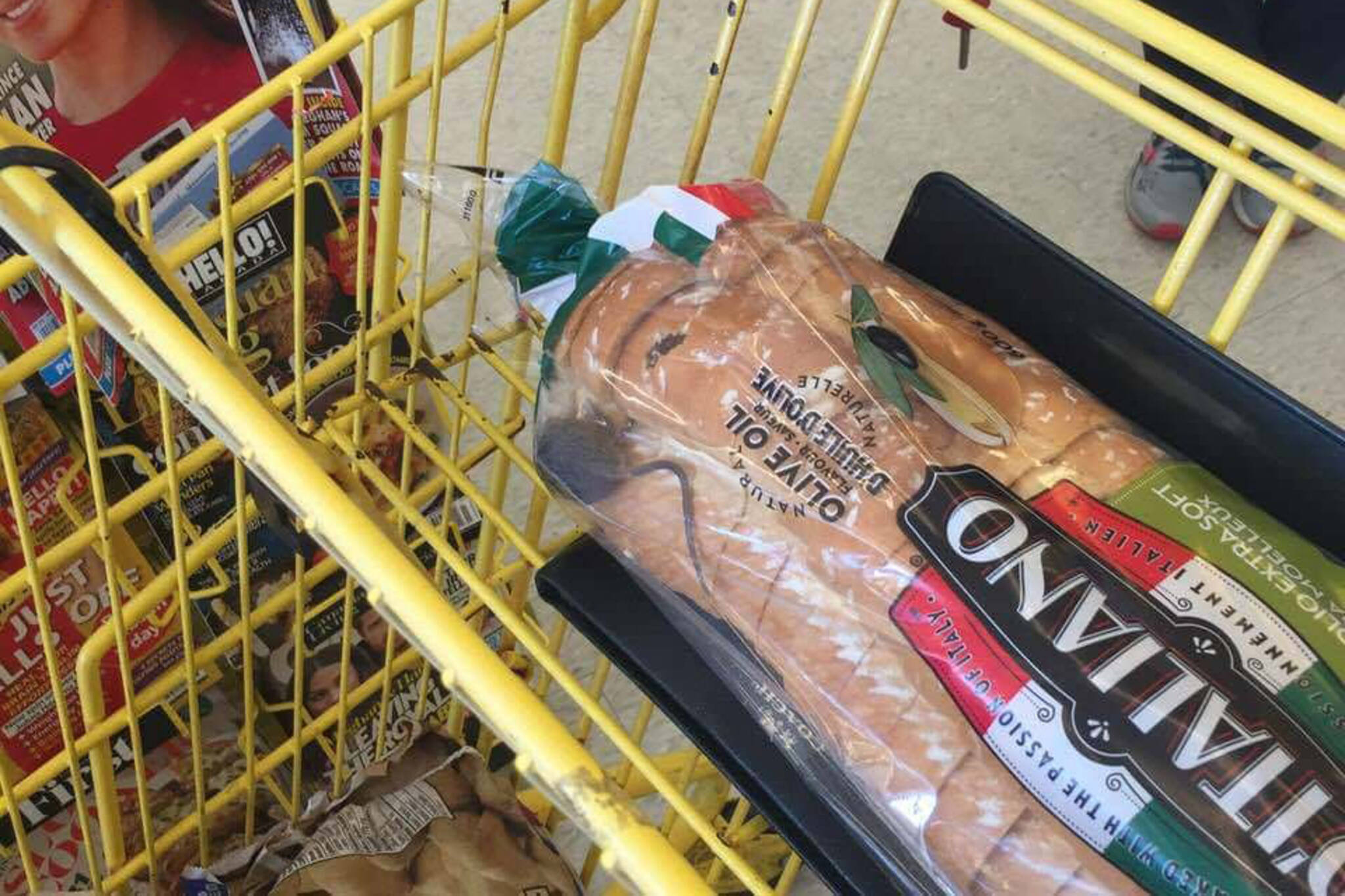 mouse bread no frills