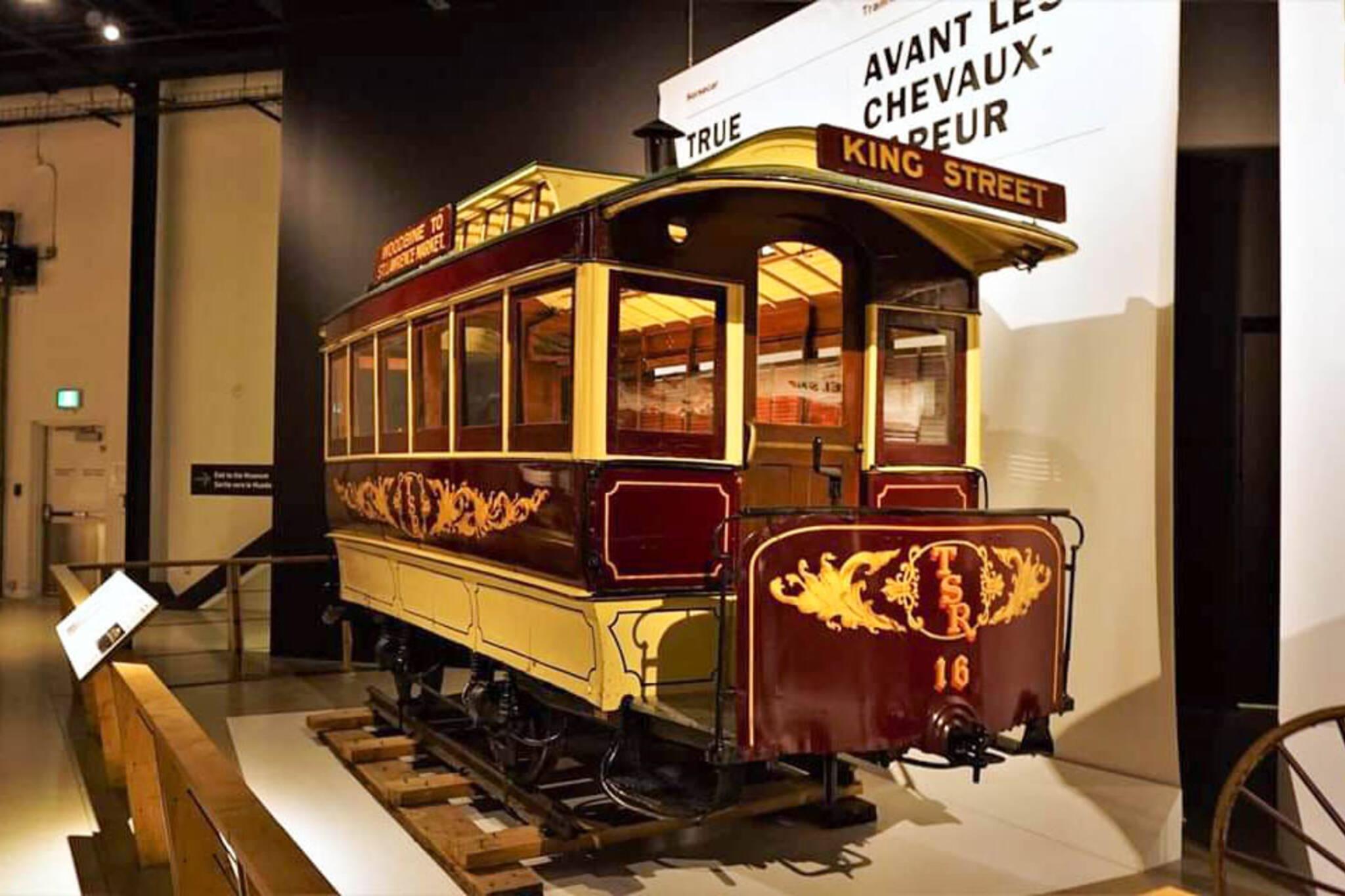 Toronto horse streetcar