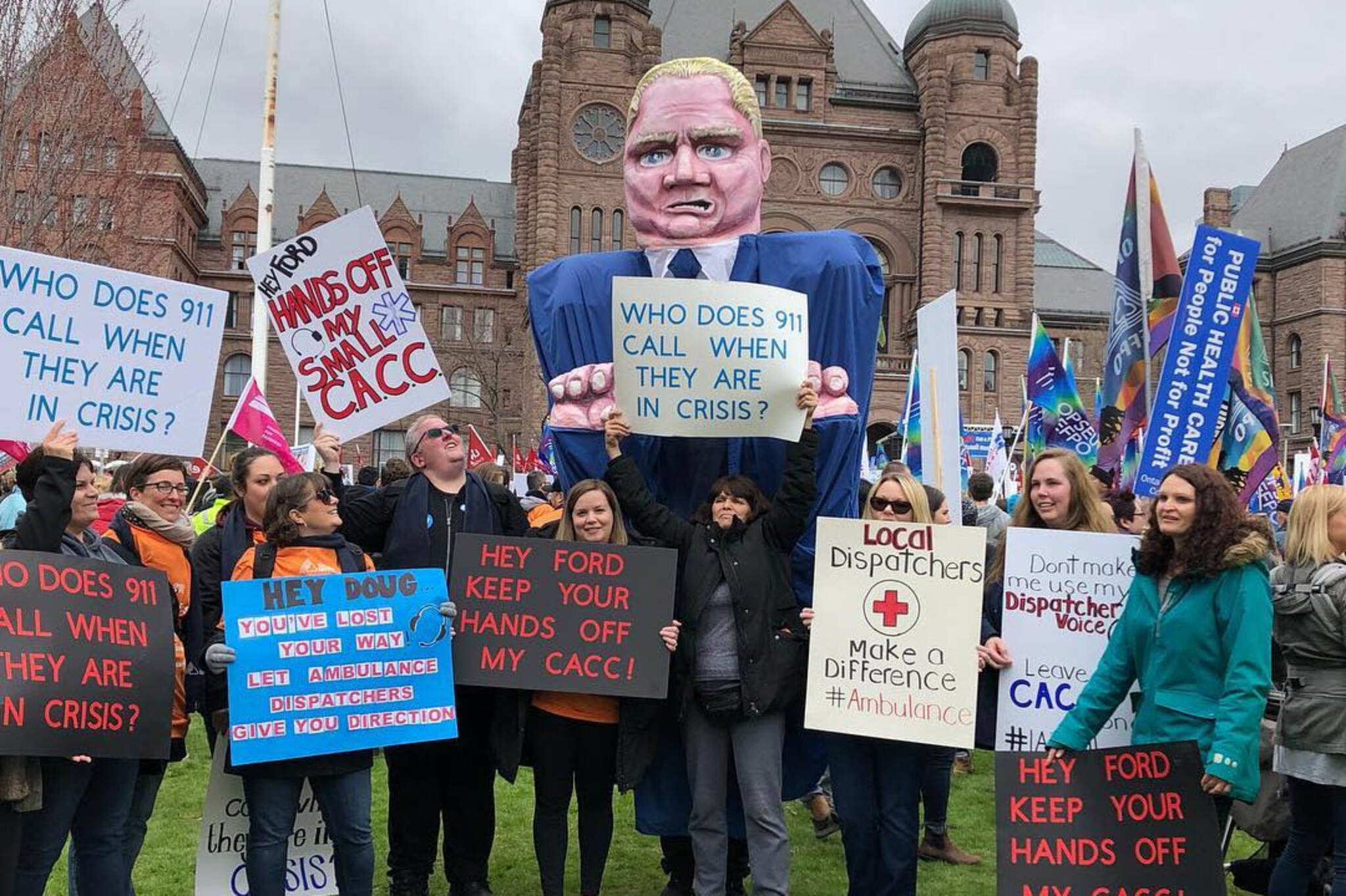 Doug Ford protest