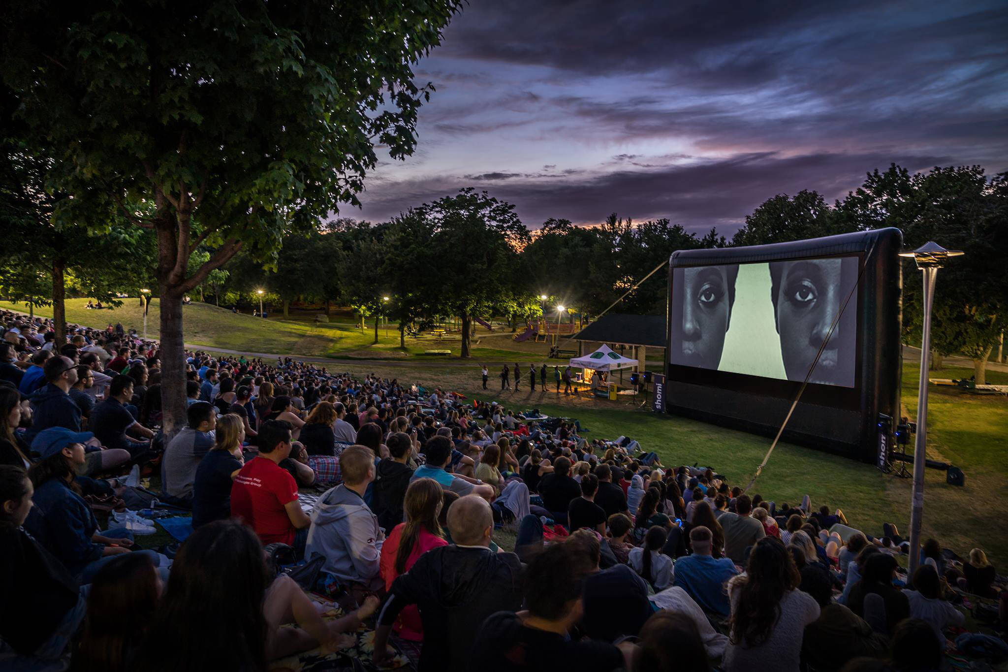 free outdoor movies toronto