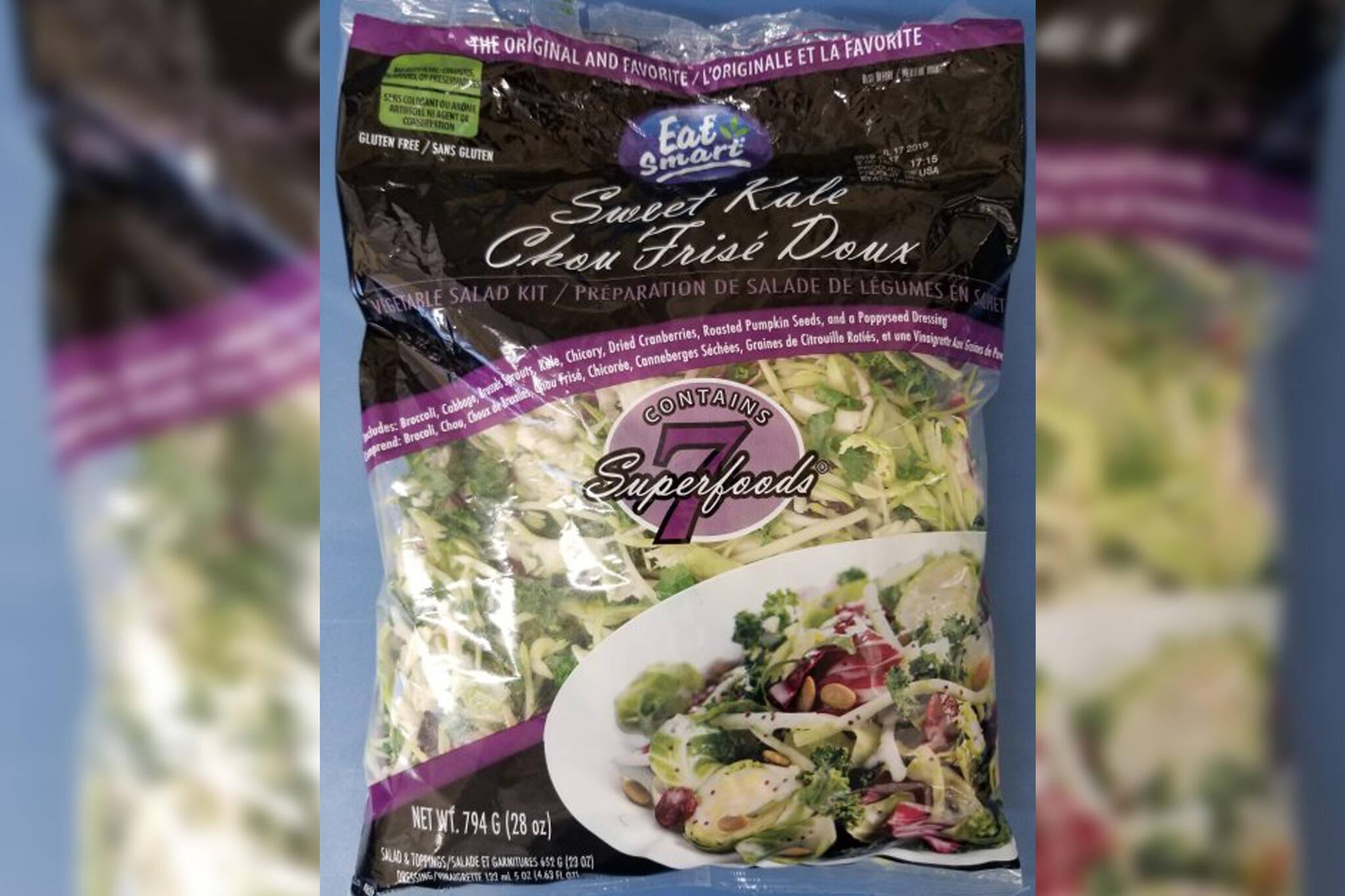 kale salad recall listeria