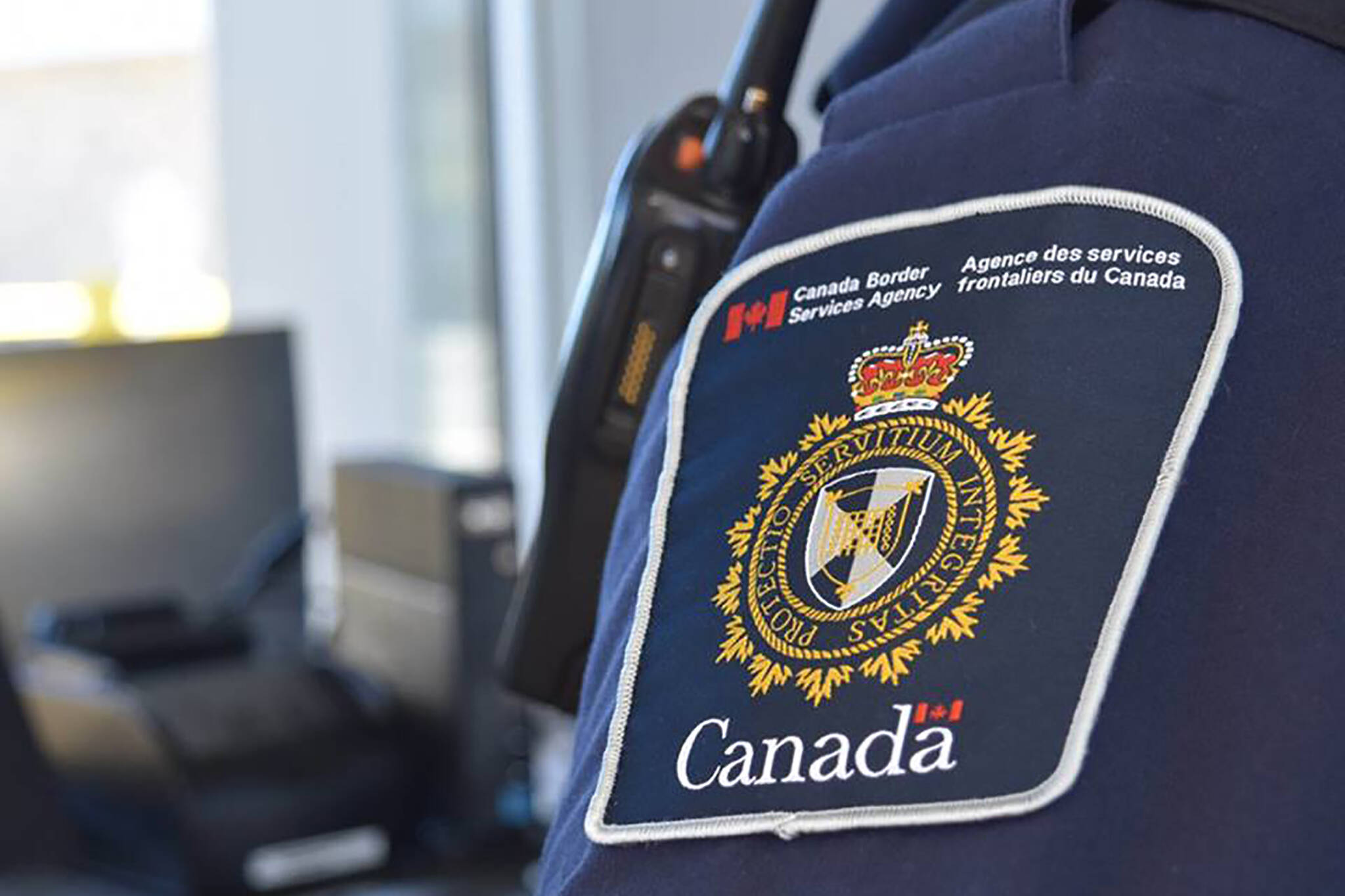 Immigration officer ID check Toronto