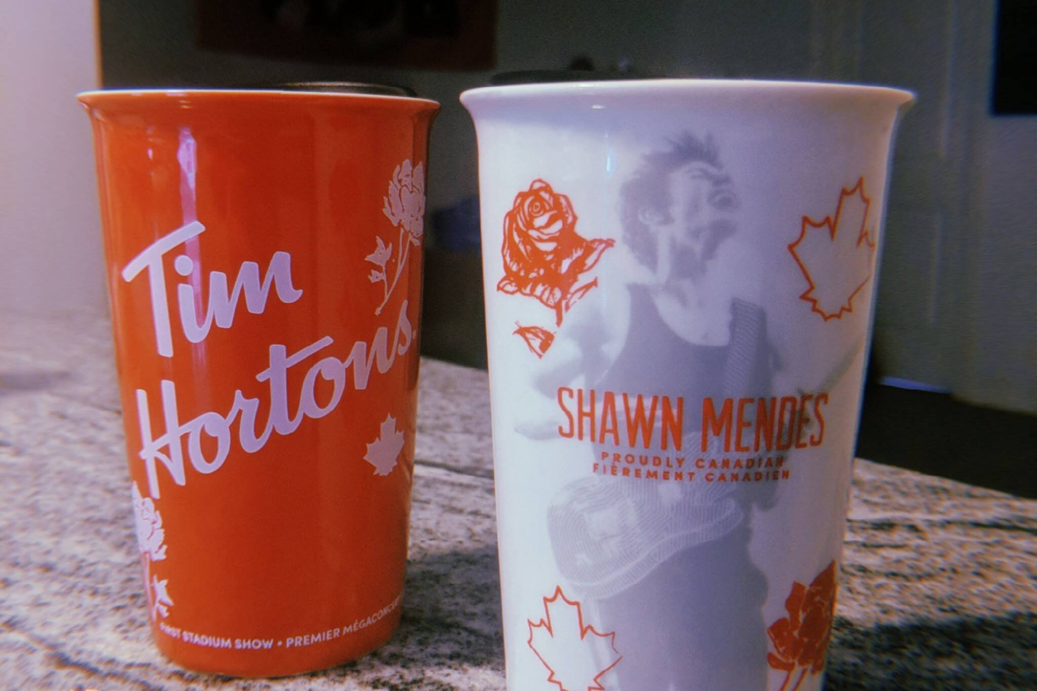 shawn mendes cups tim hortons