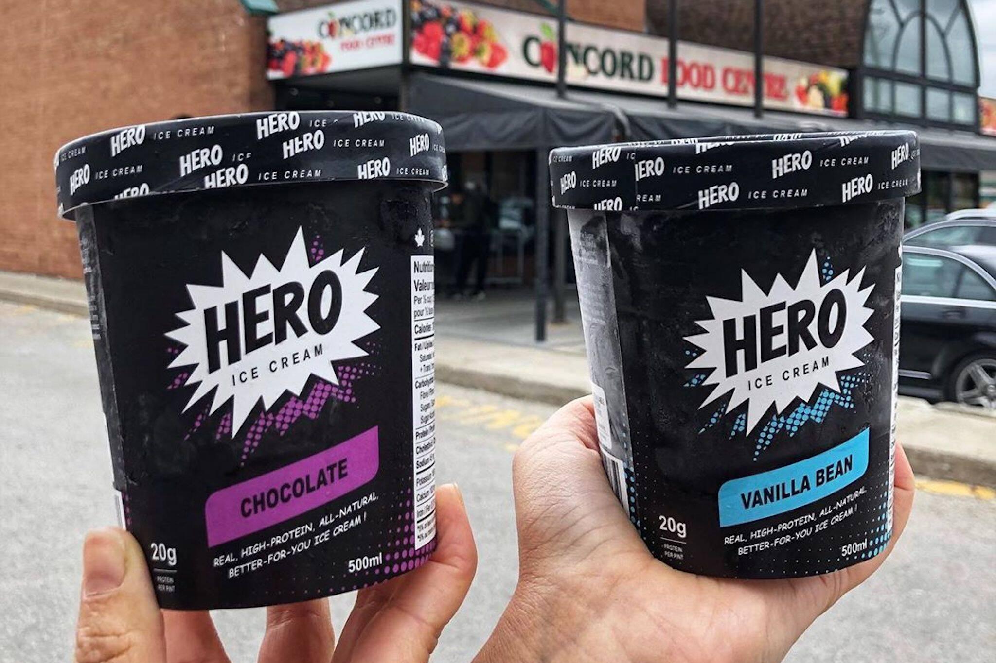 high protein ice cream toronto