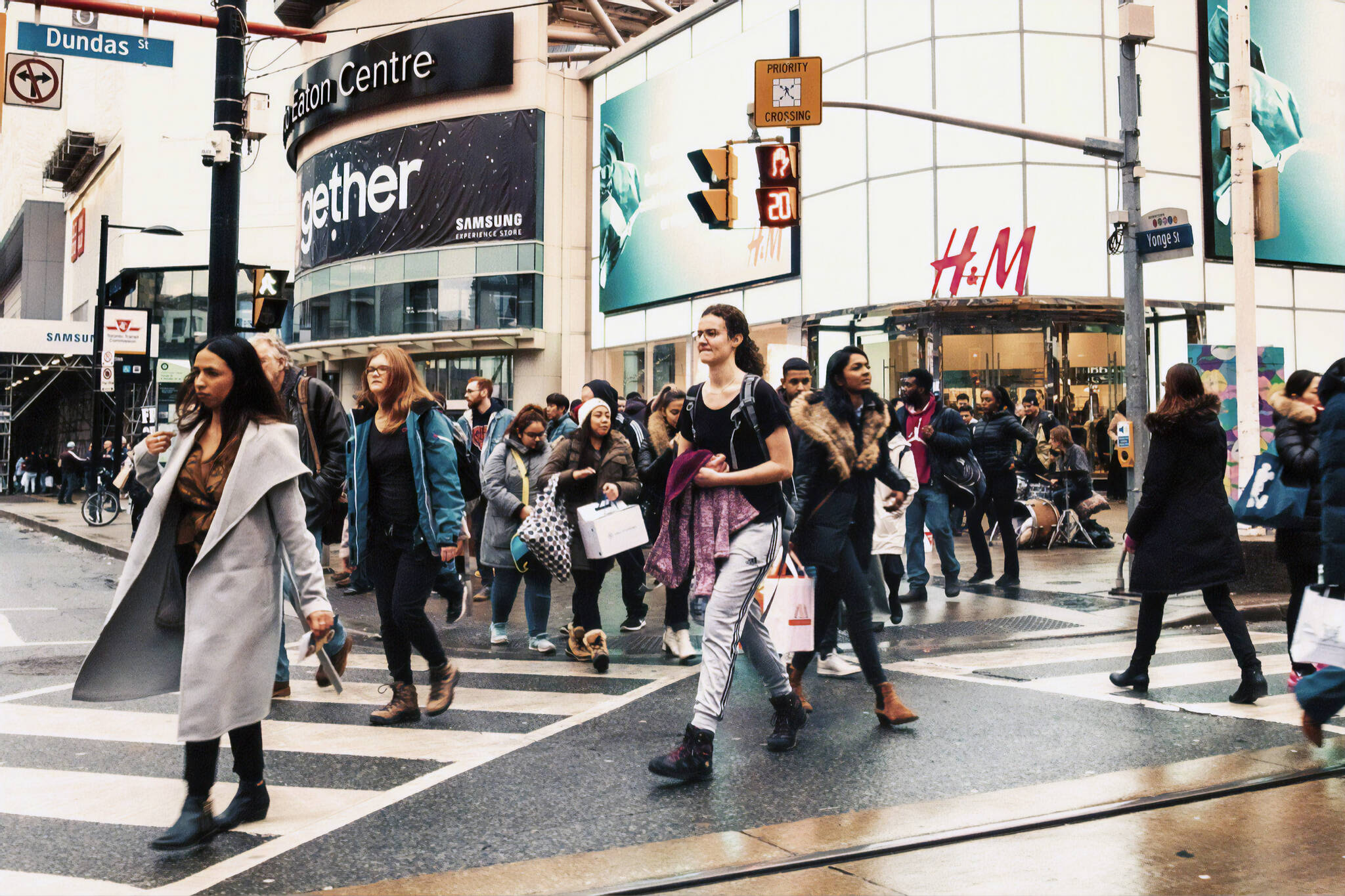 pedestrian detection toronto