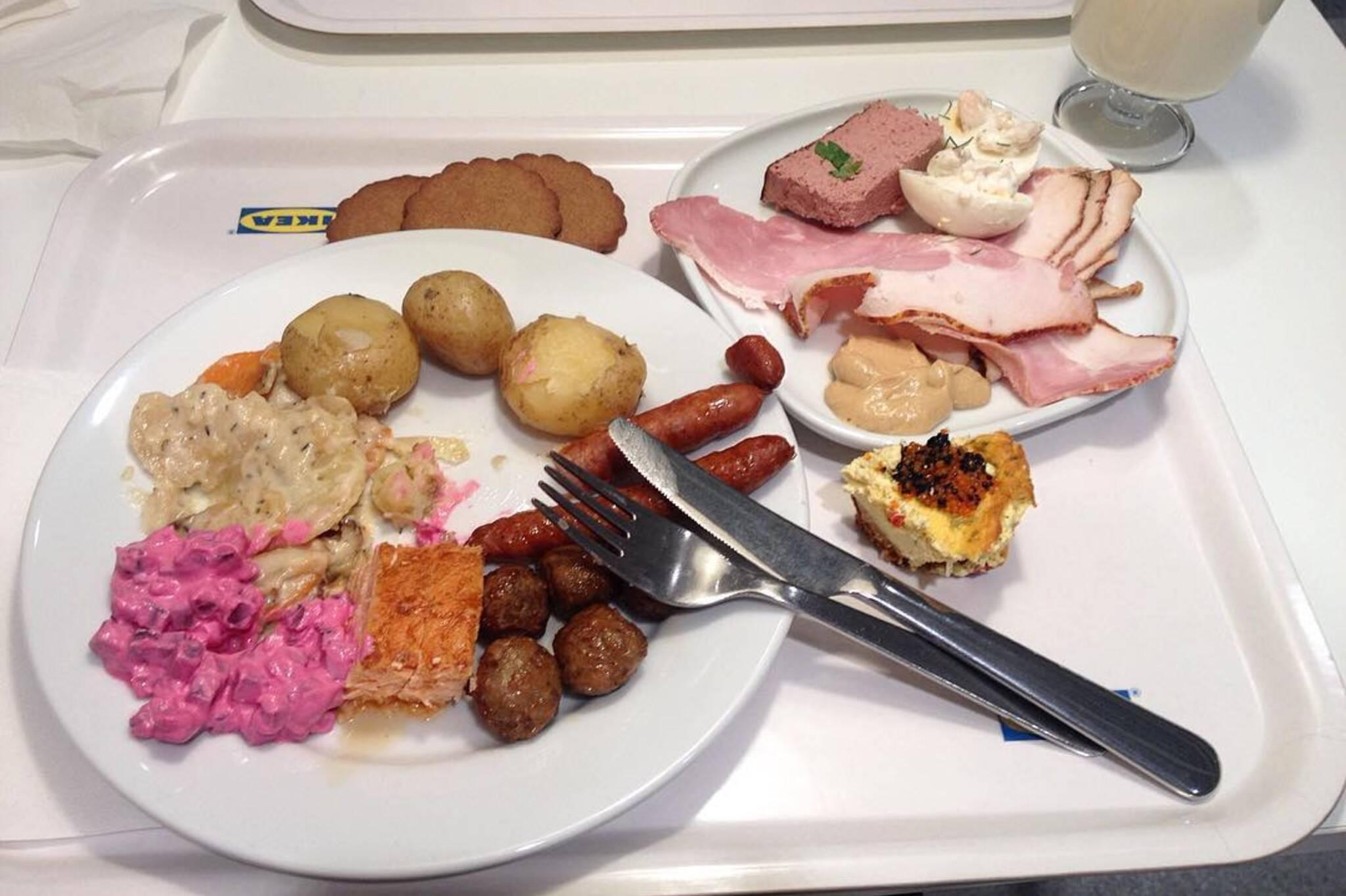 ikea holiday buffet