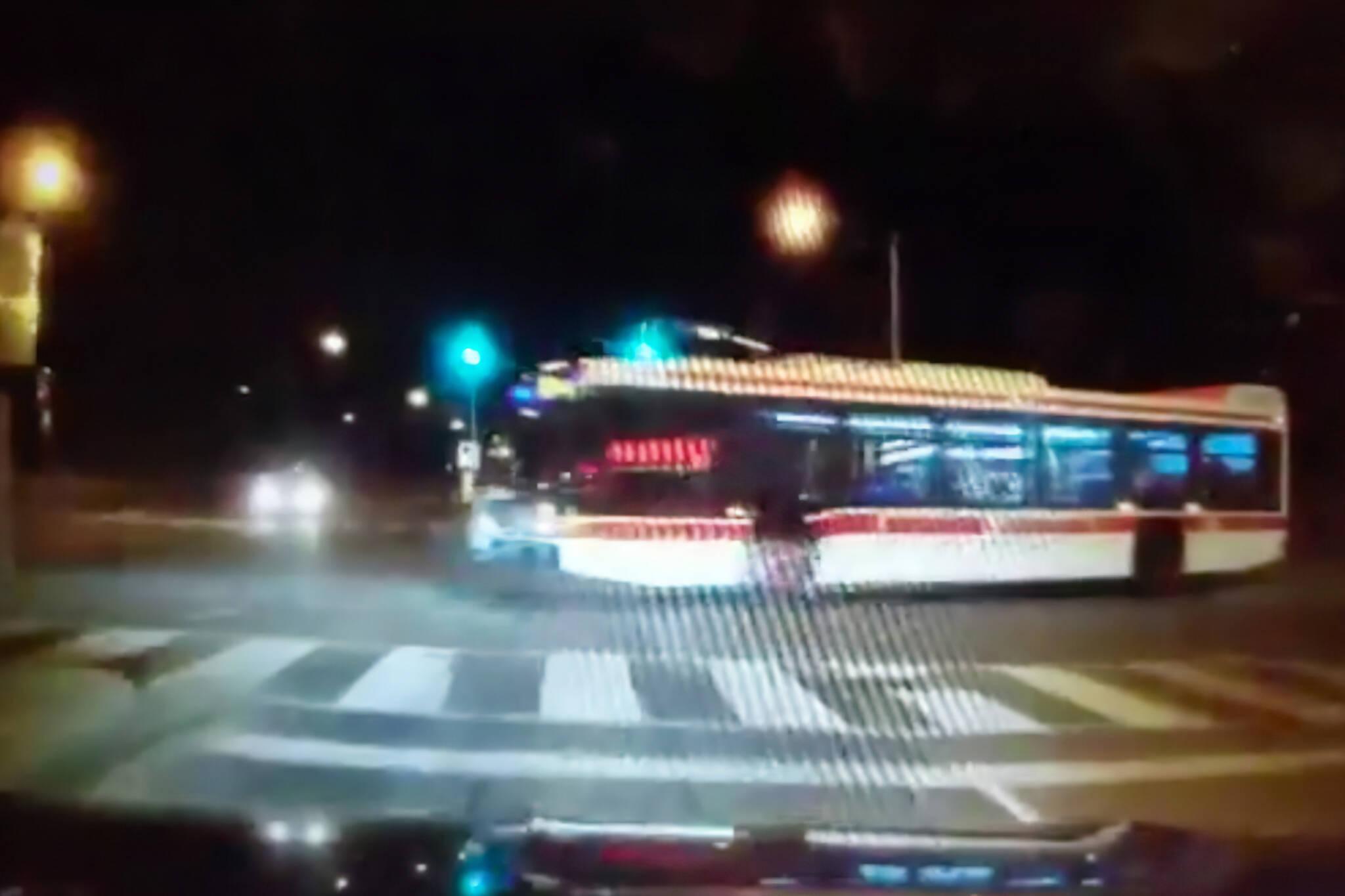 ttc bus video