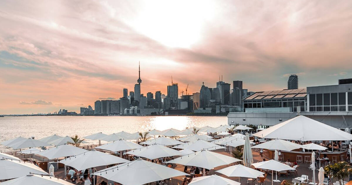 Toronto is getting a massive heated and covered patio on the waterfront