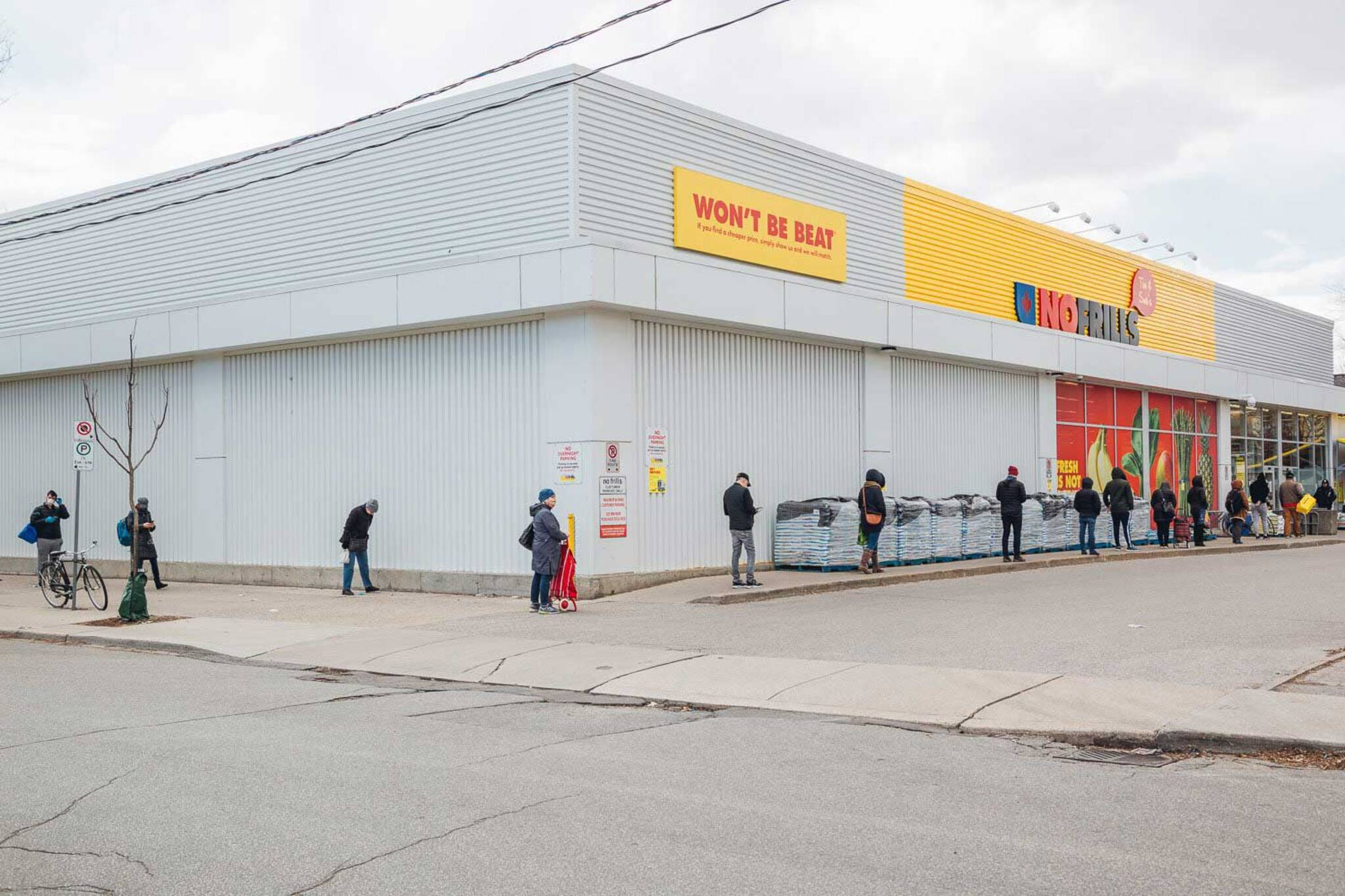 grocery store wait times toronto