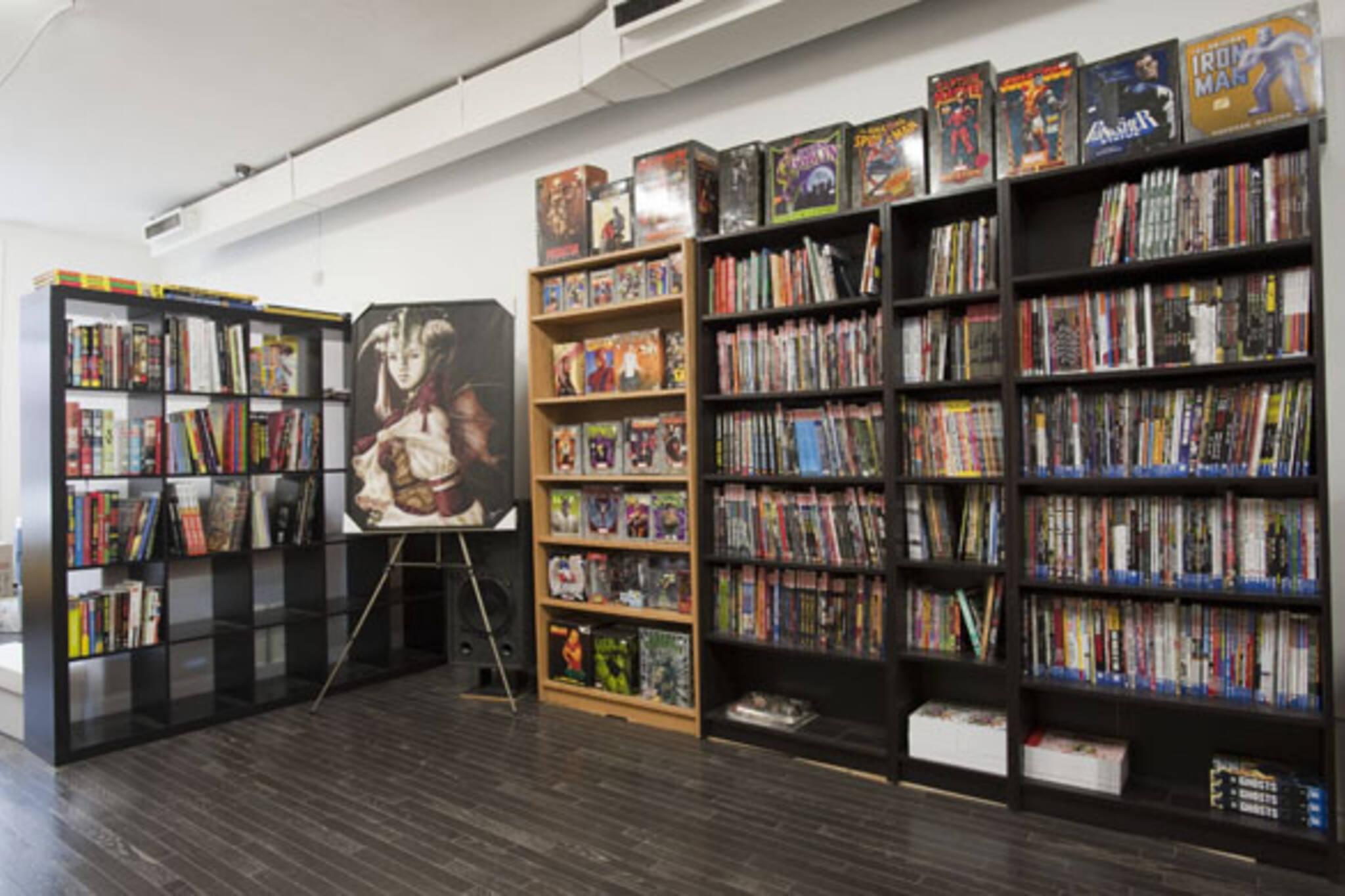 Comic Book Lounge
