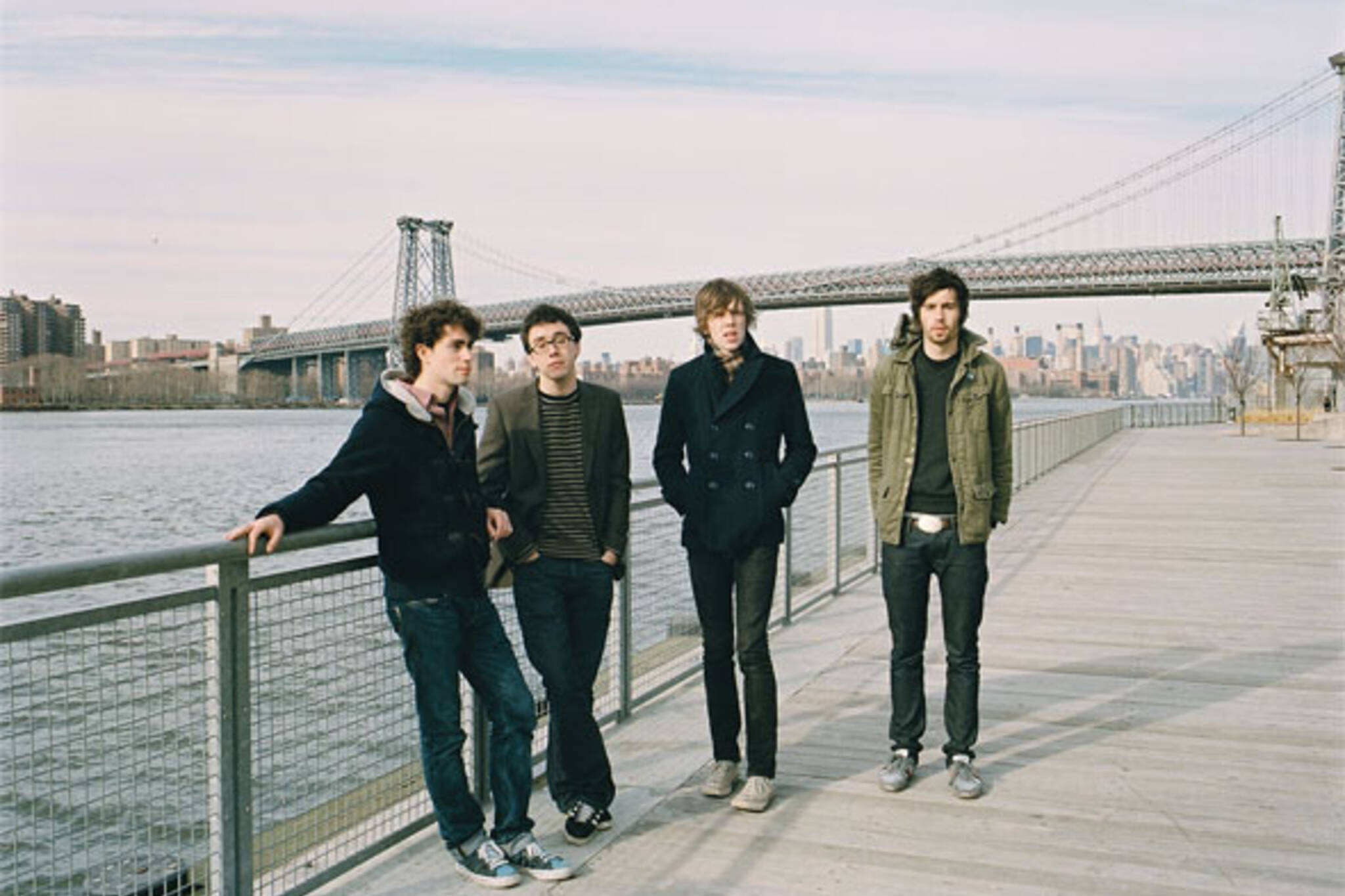 Photo of Tokyo Police Club by Jimmy Fontaine