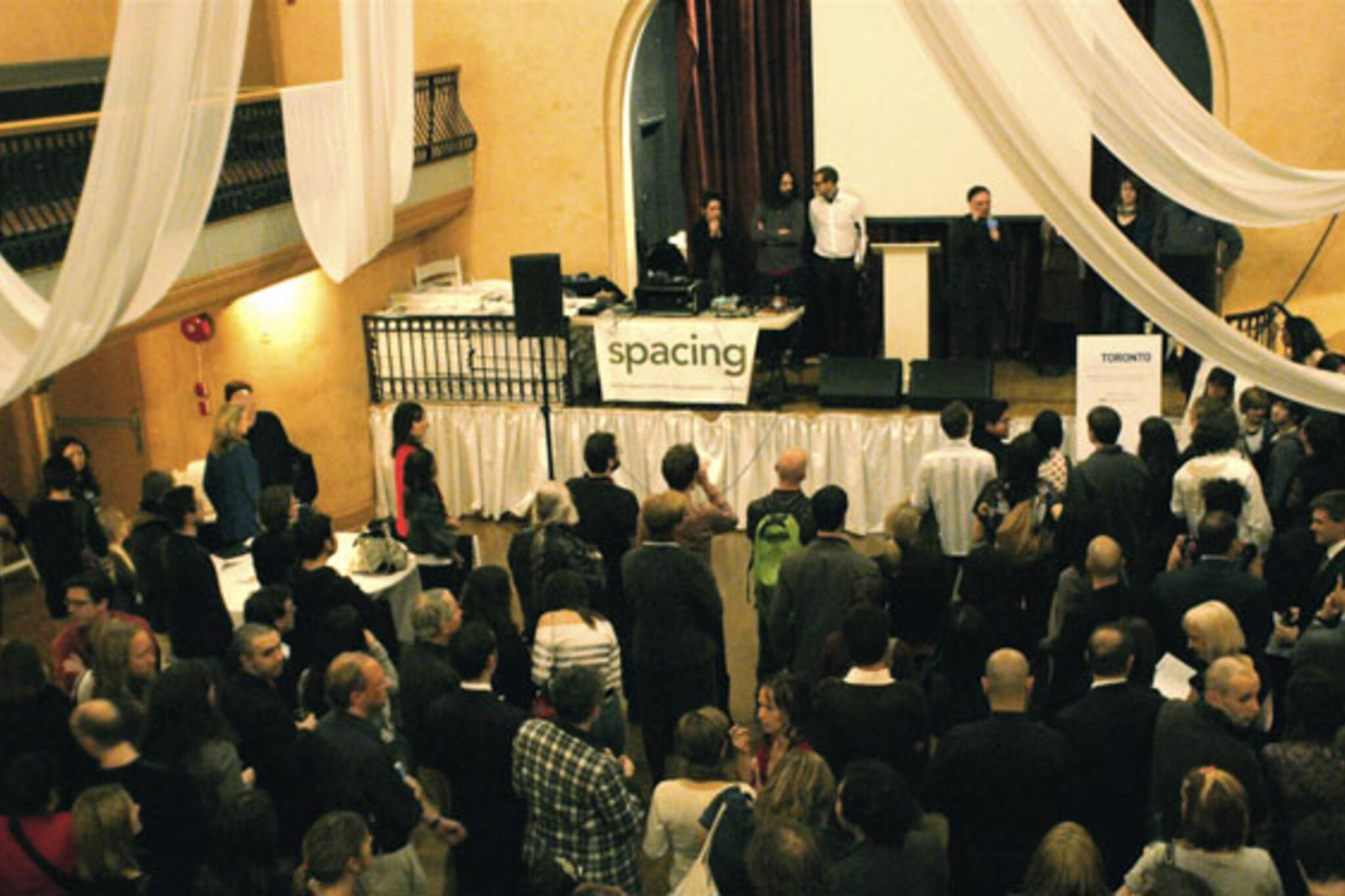 Spacing Magazine had a party at The Great Hall on Queen St. W. to celebrate the Toronto-based publication's fifth anniversary