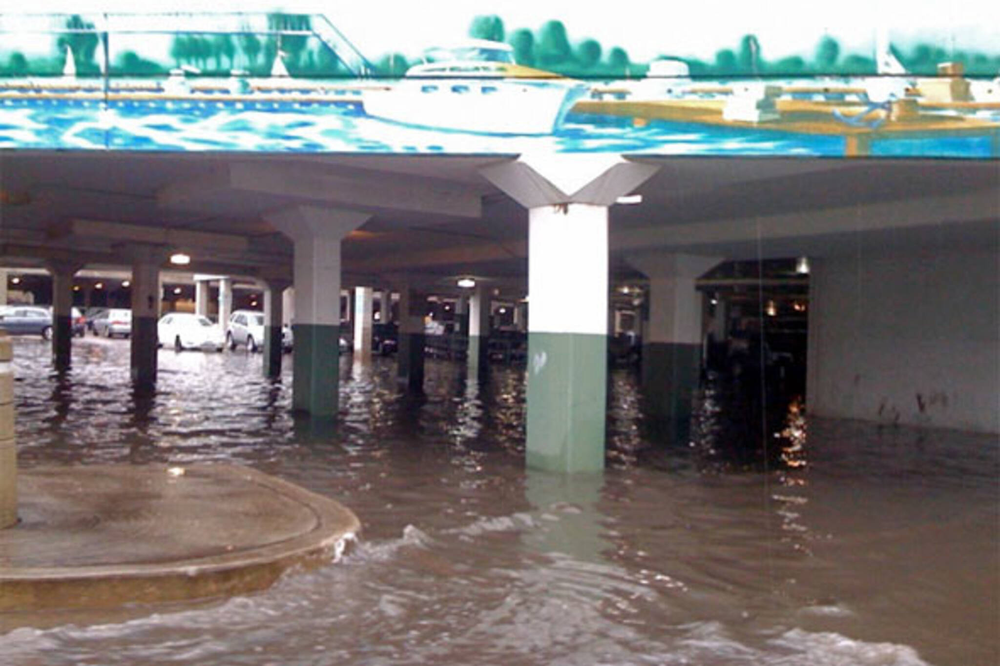 loblaws queens quay flood