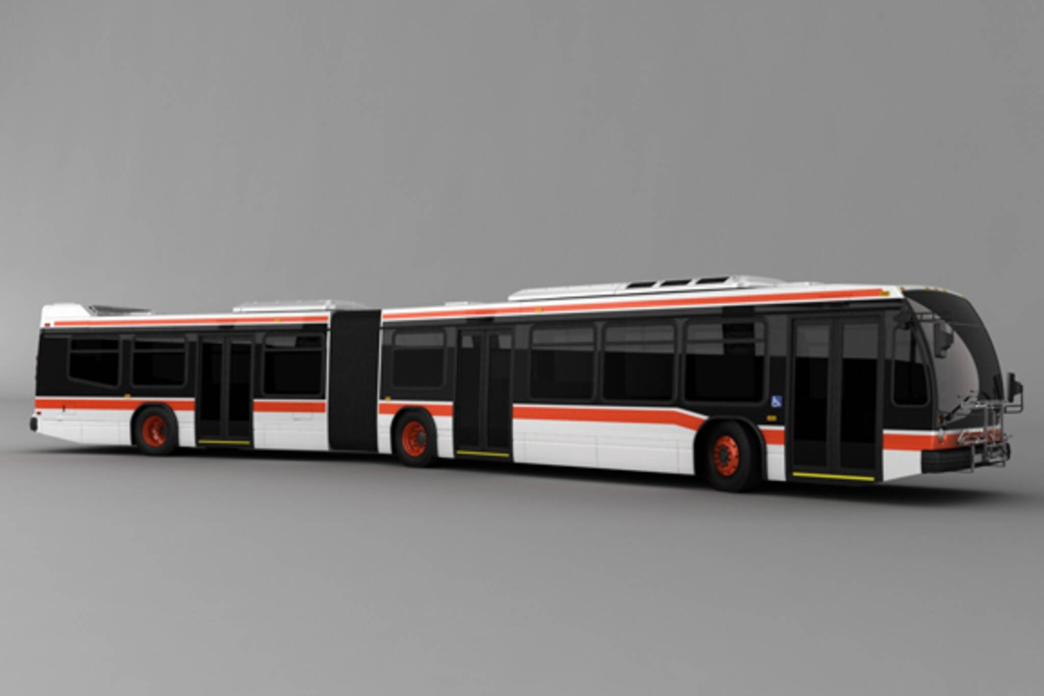 toronto articulated buses