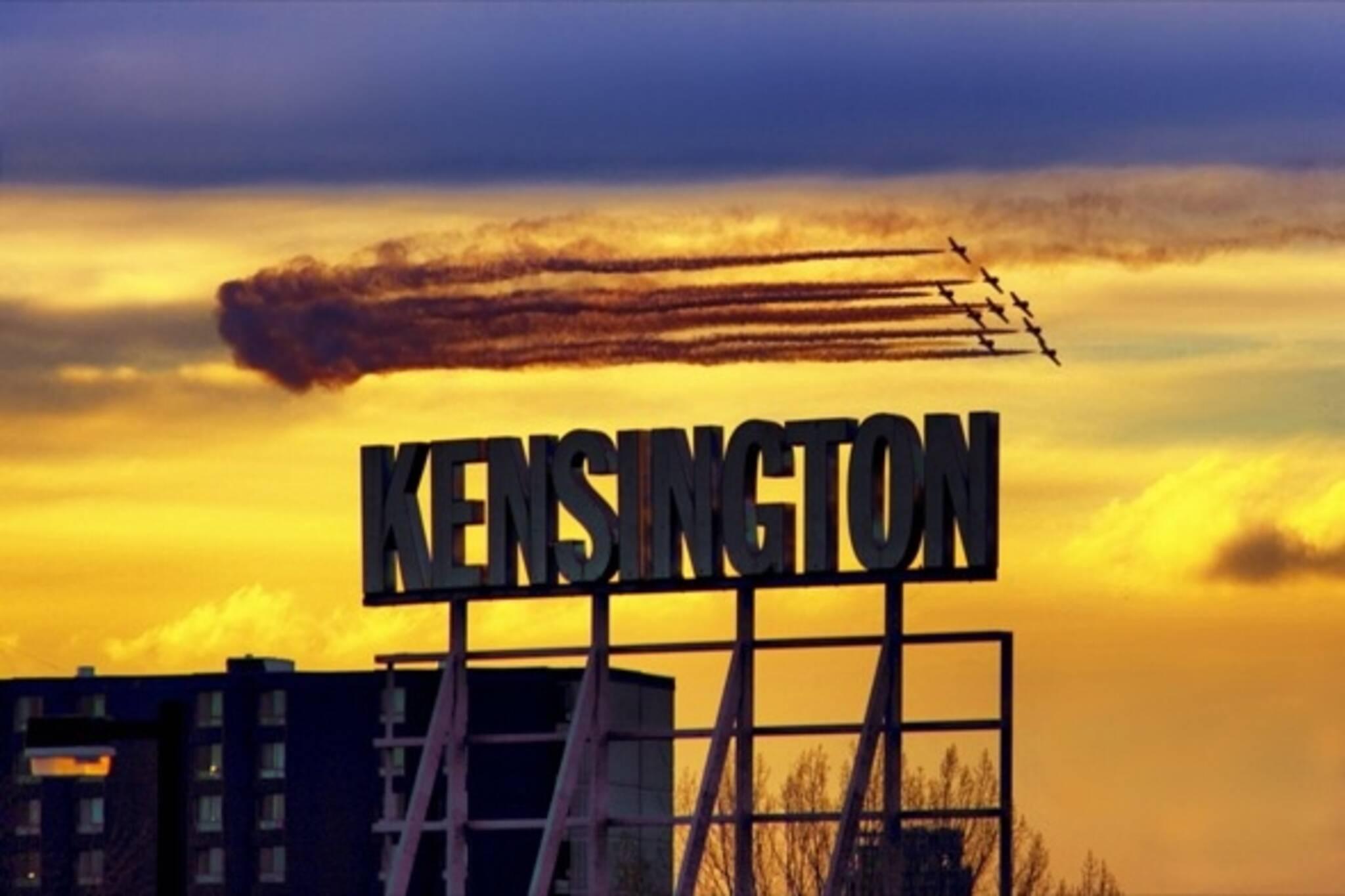 Reflecting Kensington celebrates the market
