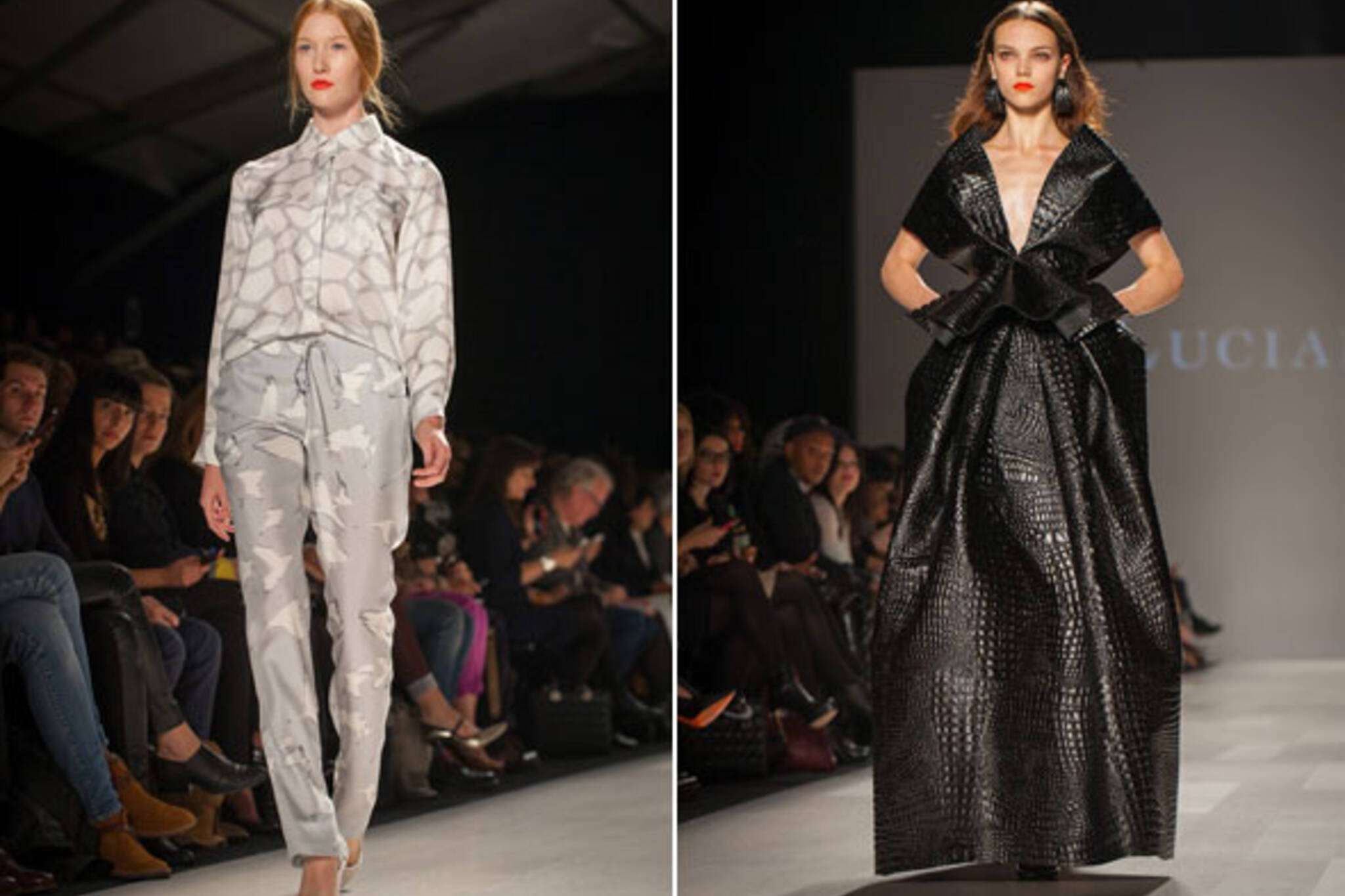 best looks toronto fashion week 2012