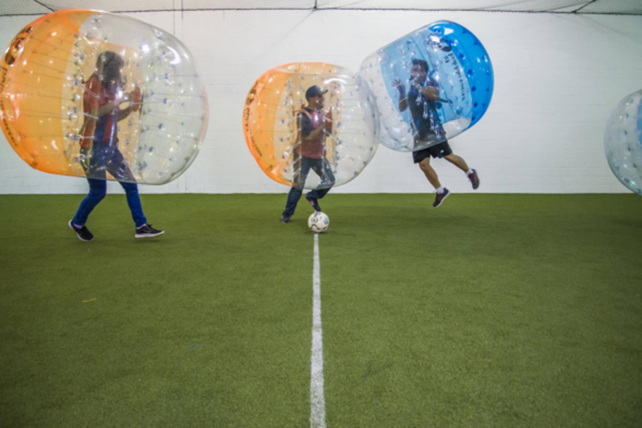 AT Bubble Soccer Toronto