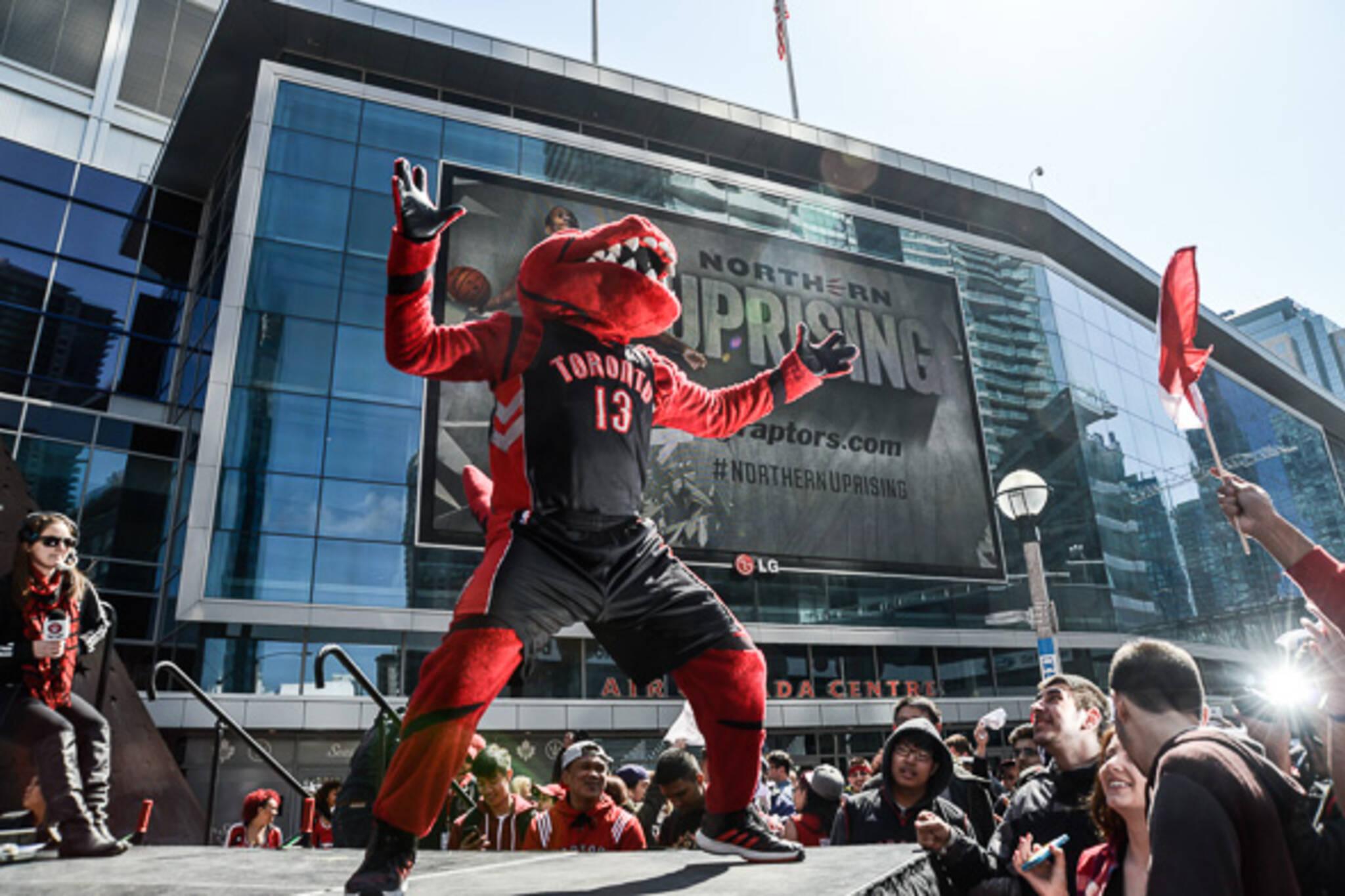 Toronto Raptors Party Square
