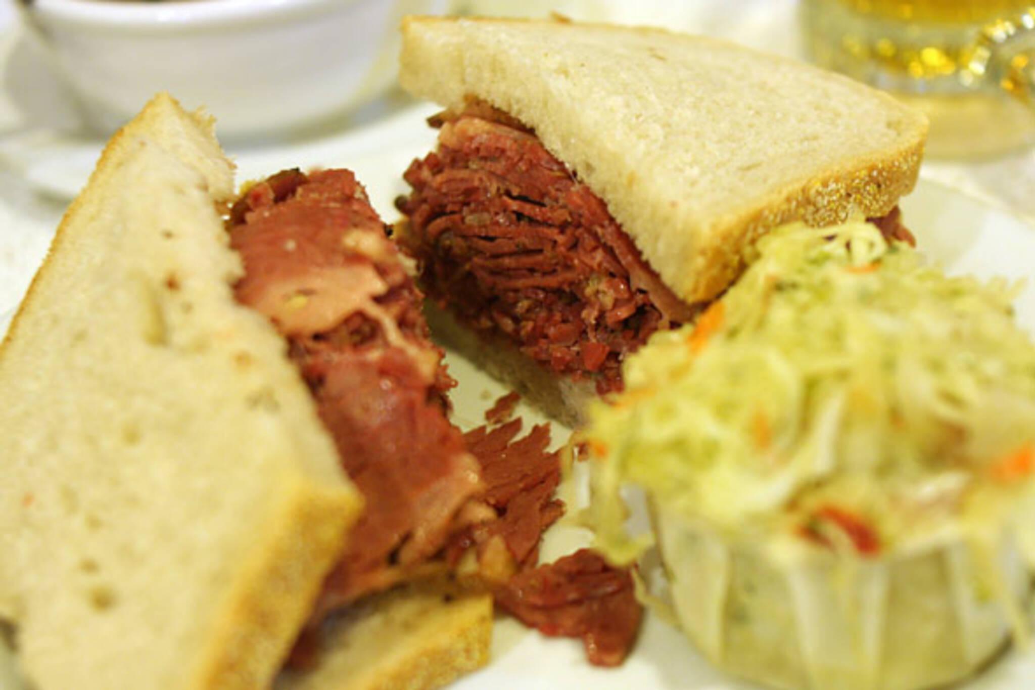 Pastrami Sandwich at Yitz's Deli