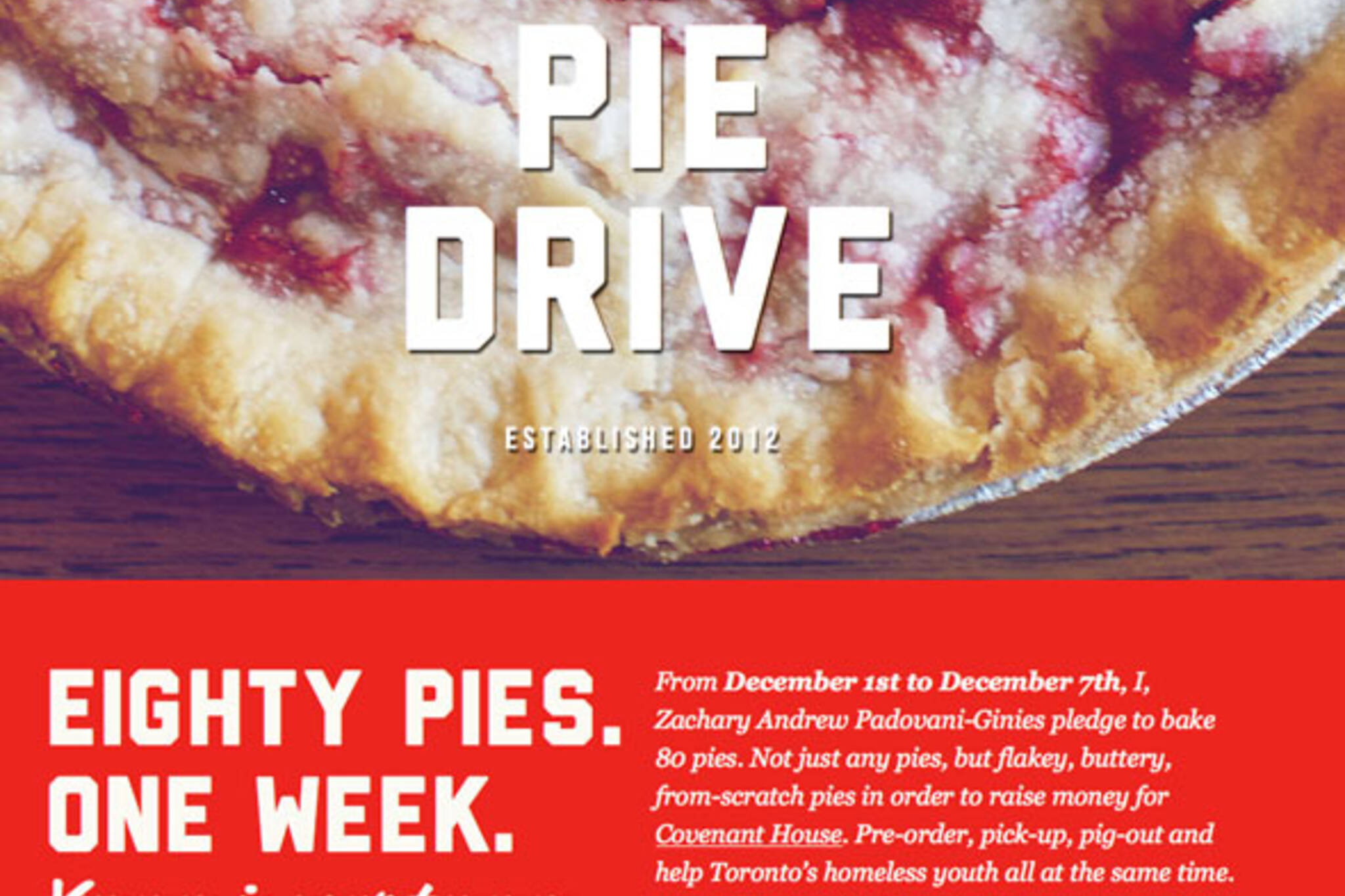 The Pie Drive