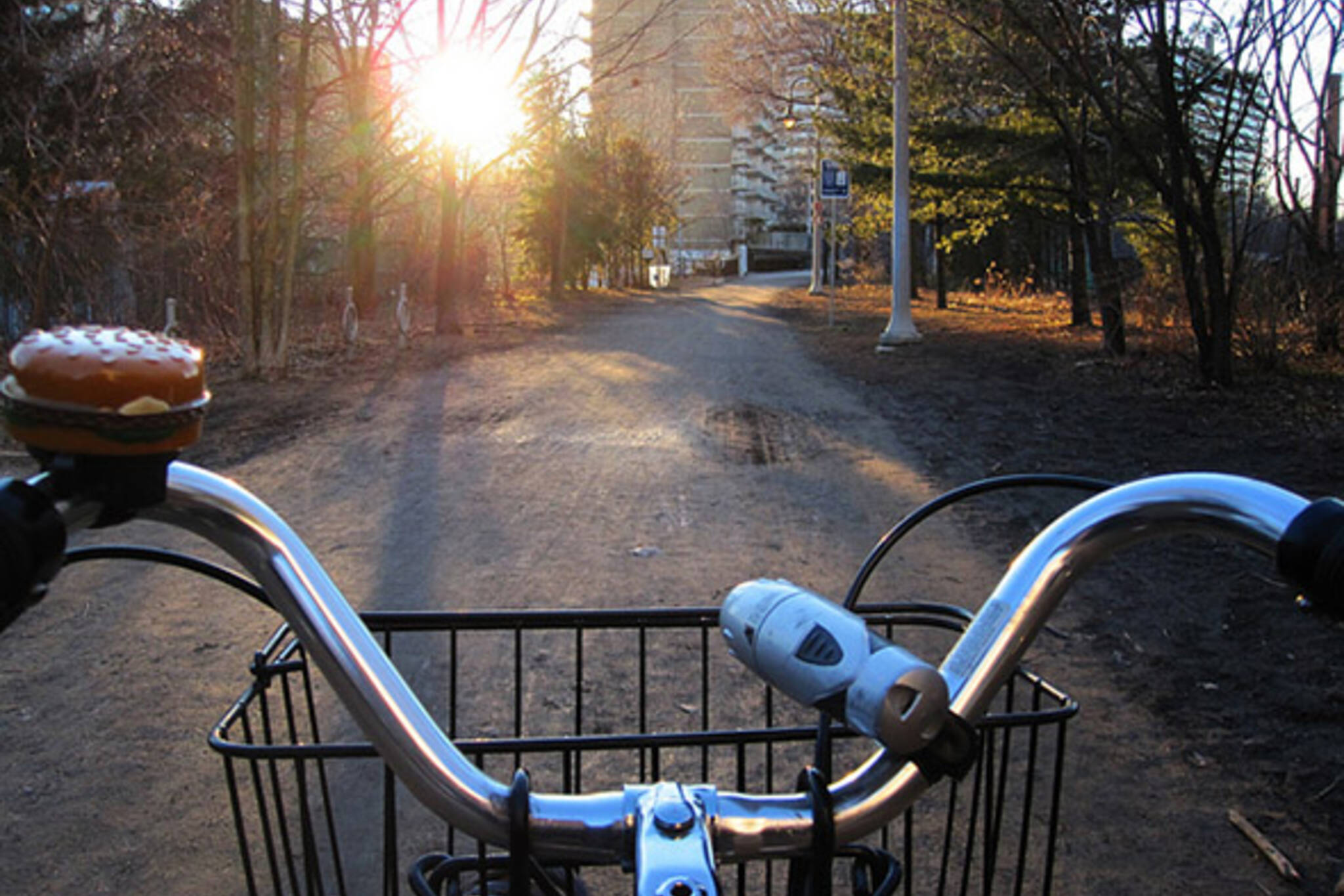 cold bike ride