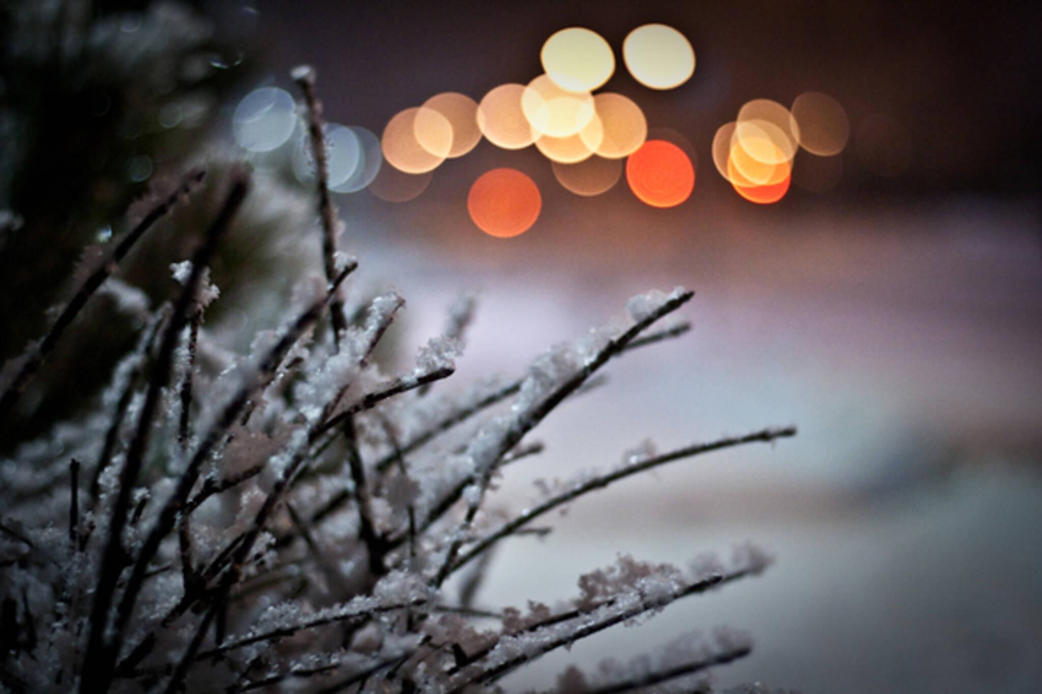 Toronto snowfall