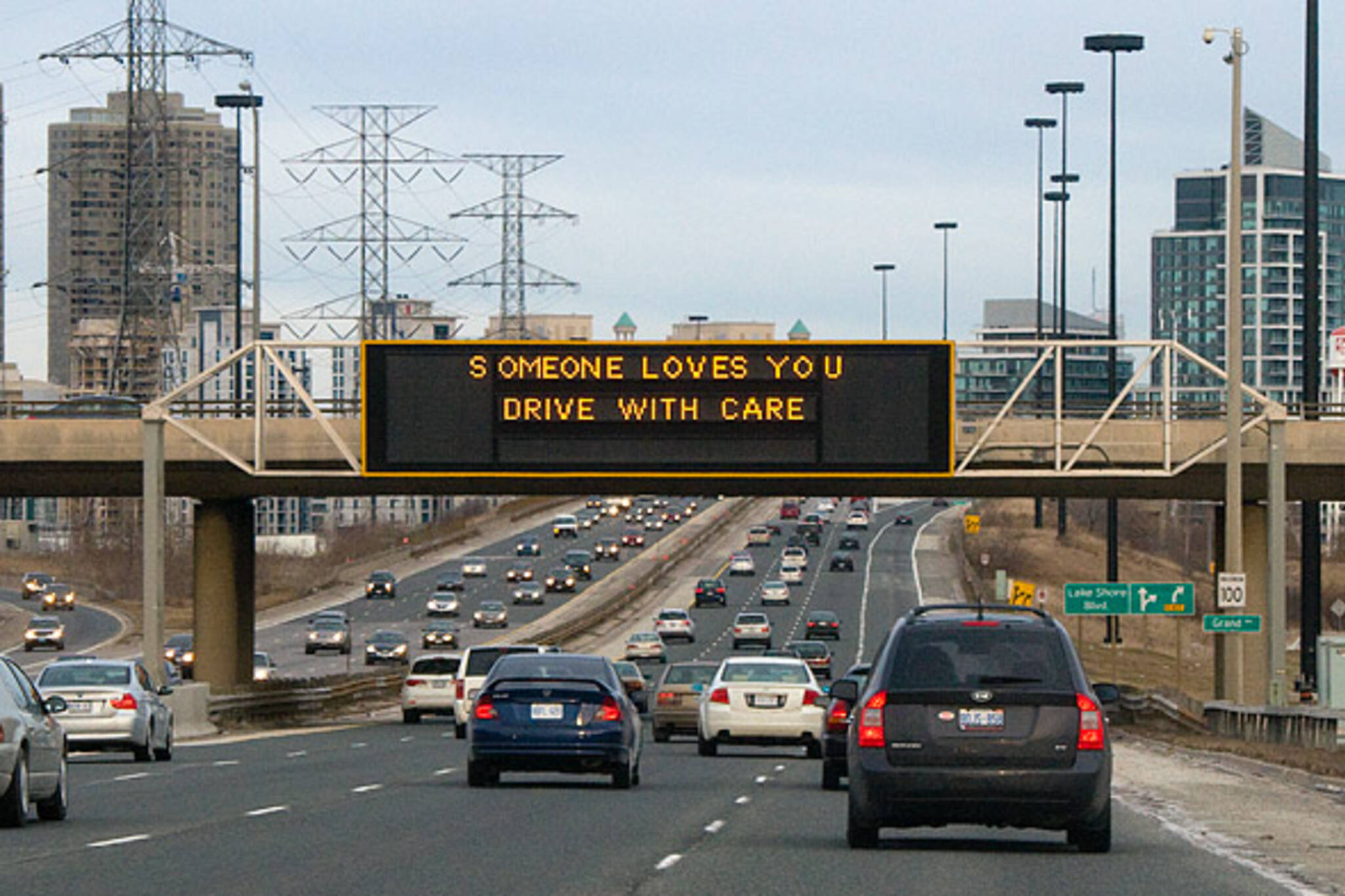 Someone Loves You on the Gardiner
